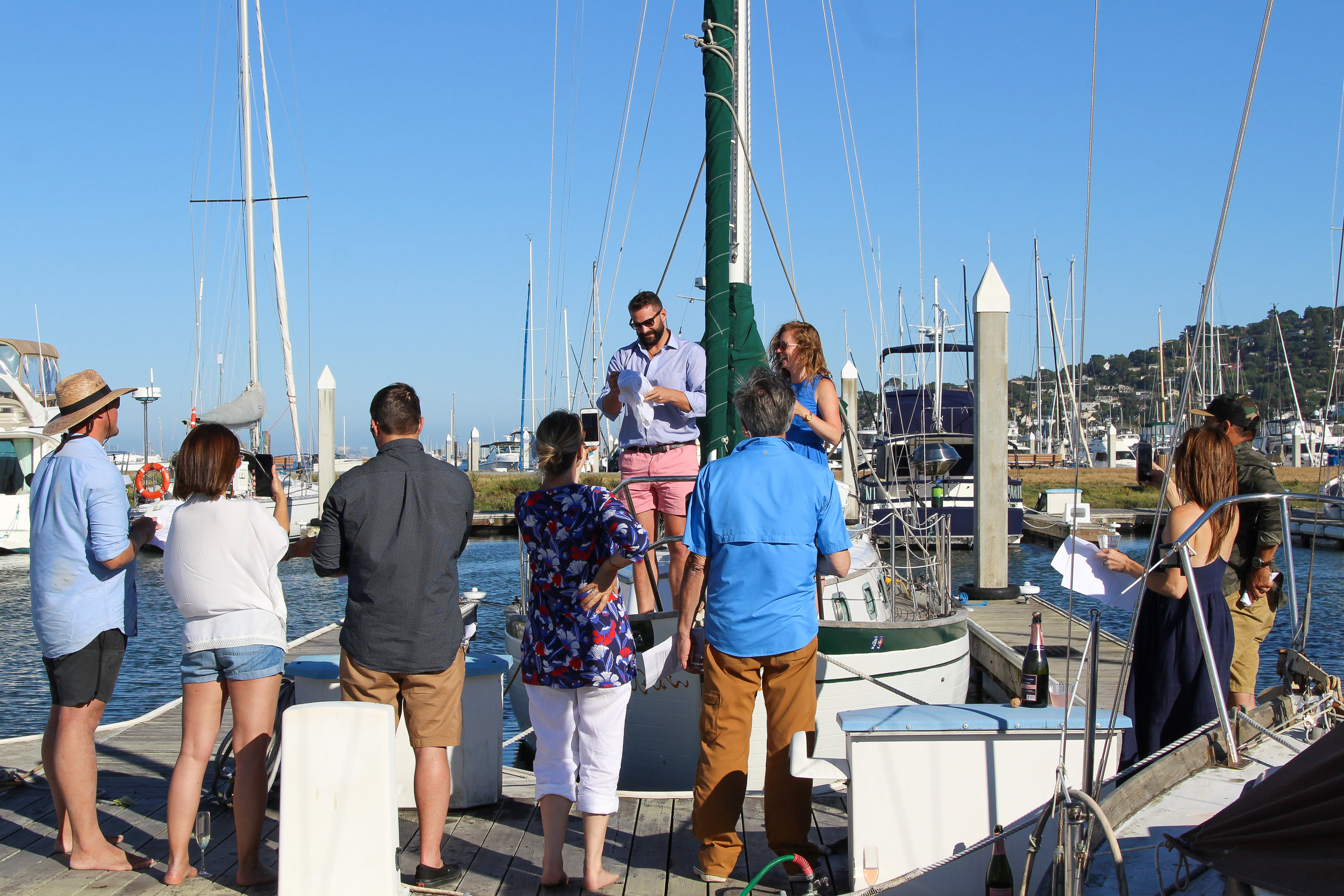 how to do a boat renaming ceremony