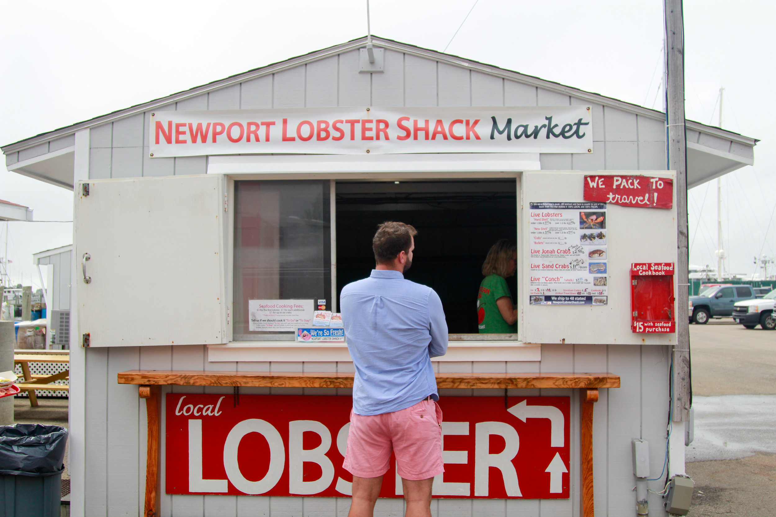 How to get fresh lobster for $9 a piece in New England