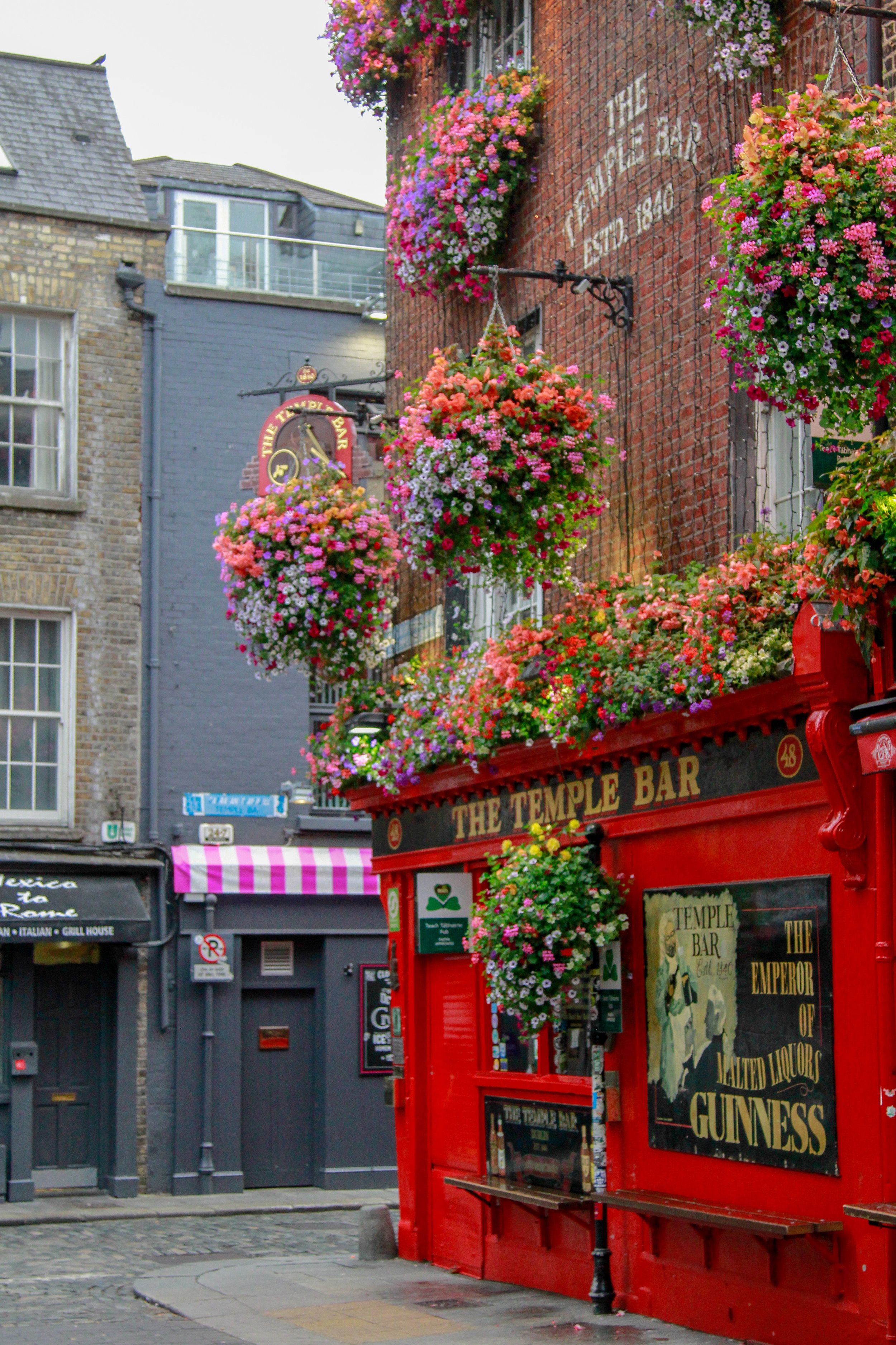 Temple Bar, Dublin - Guide to Dublin
