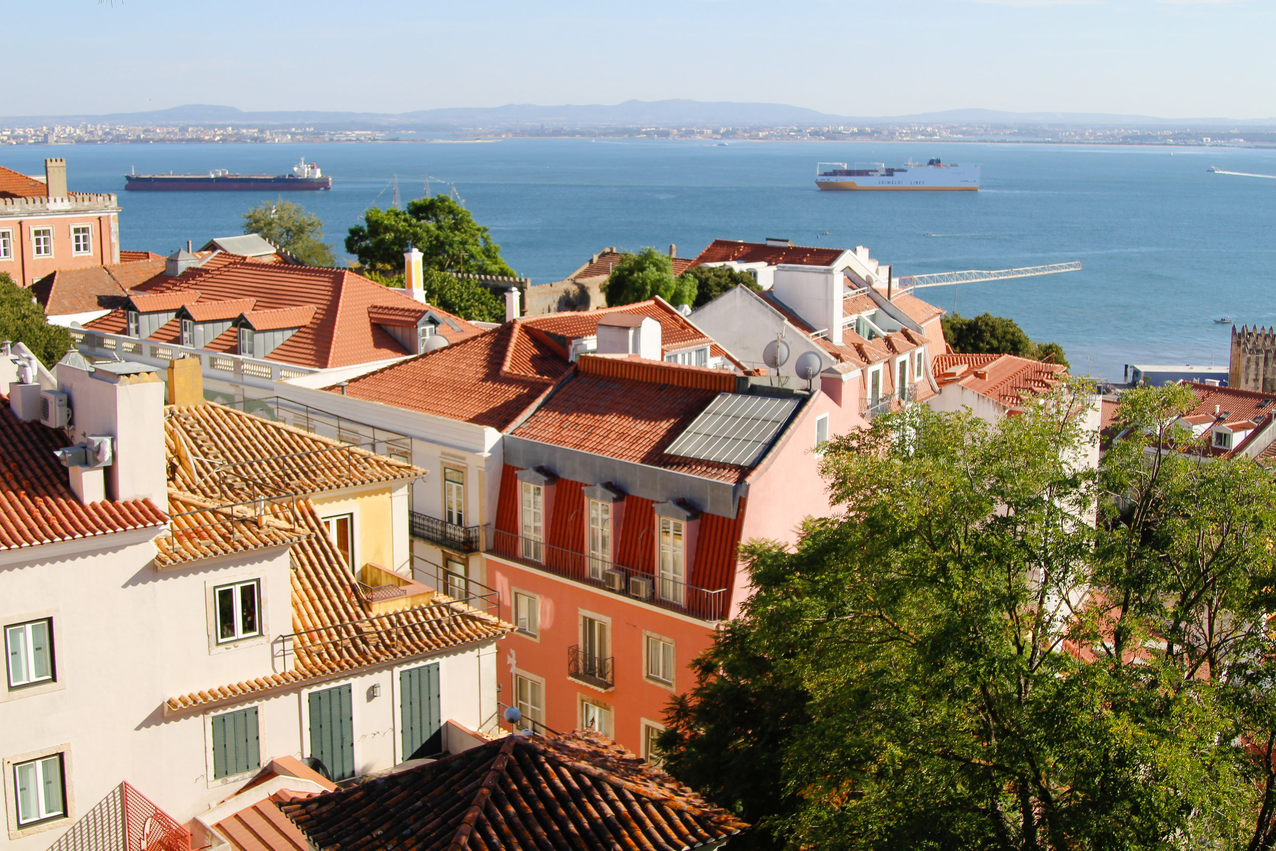 View of Lisbon from São Jorge Castle