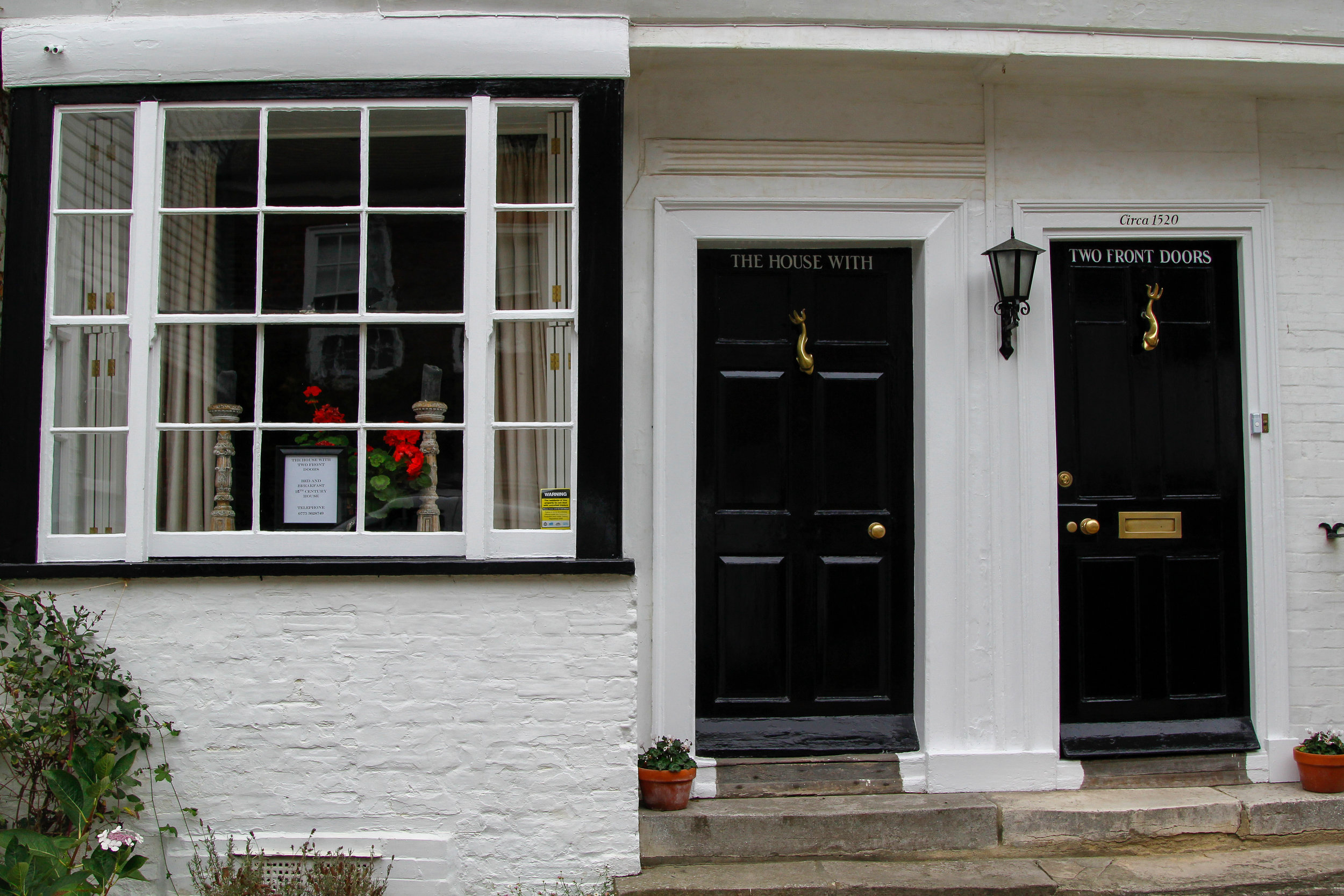 """""""The House with Two Front Doors"""" in Rye, East Sussex"""