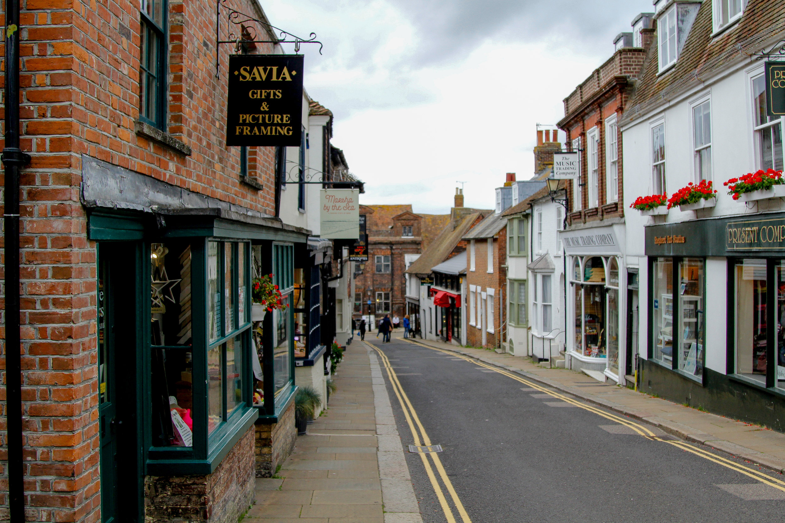 the streets of Rye, East Sussex