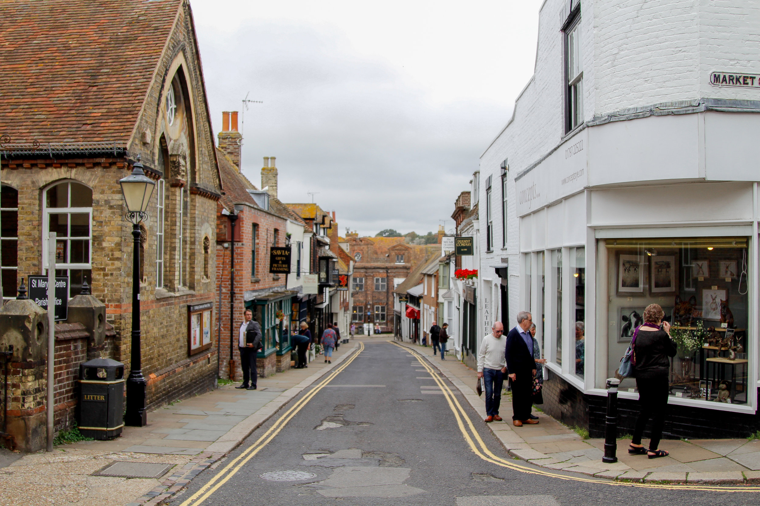 the charming streets of Rye