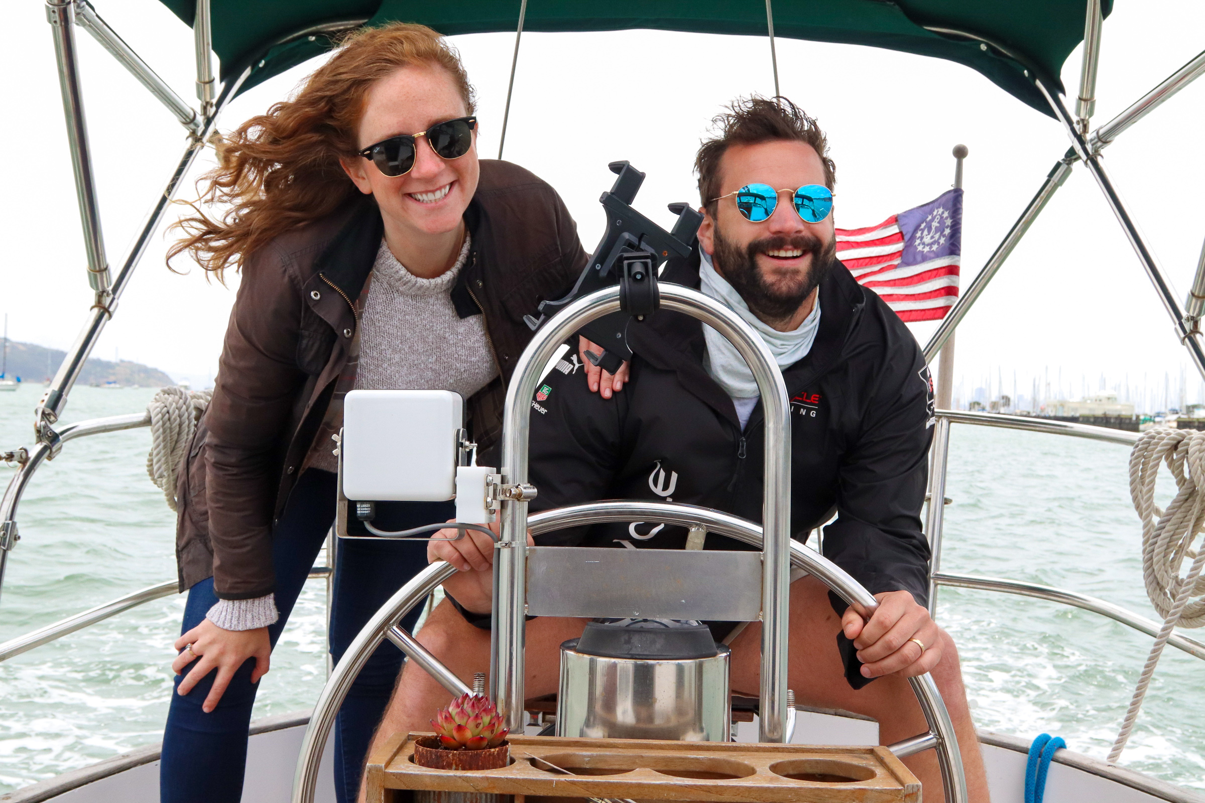 San Francisco couple just quit their jobs to travel and sail full-time