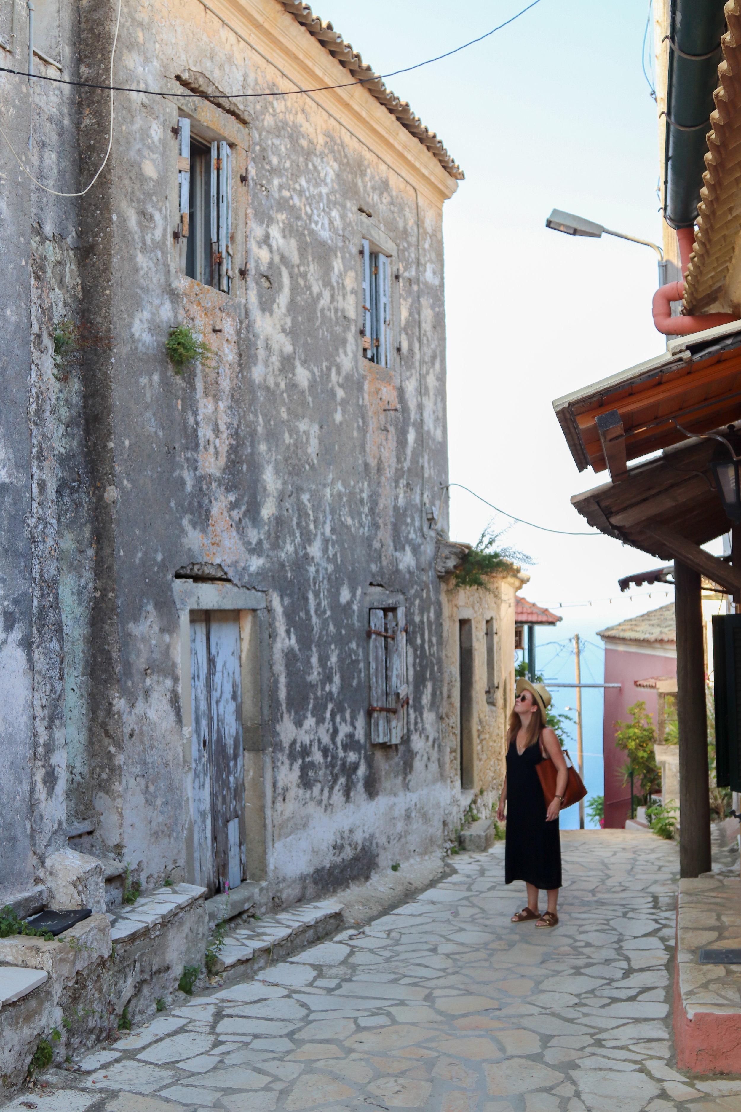 exploring Corfu