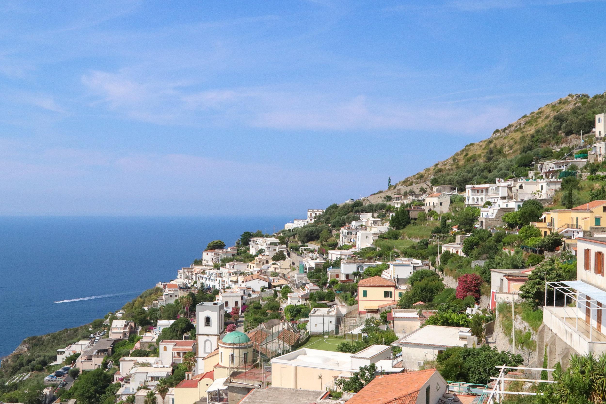 Praiano, Italy (non-touristy town on the Amalfi Coast)