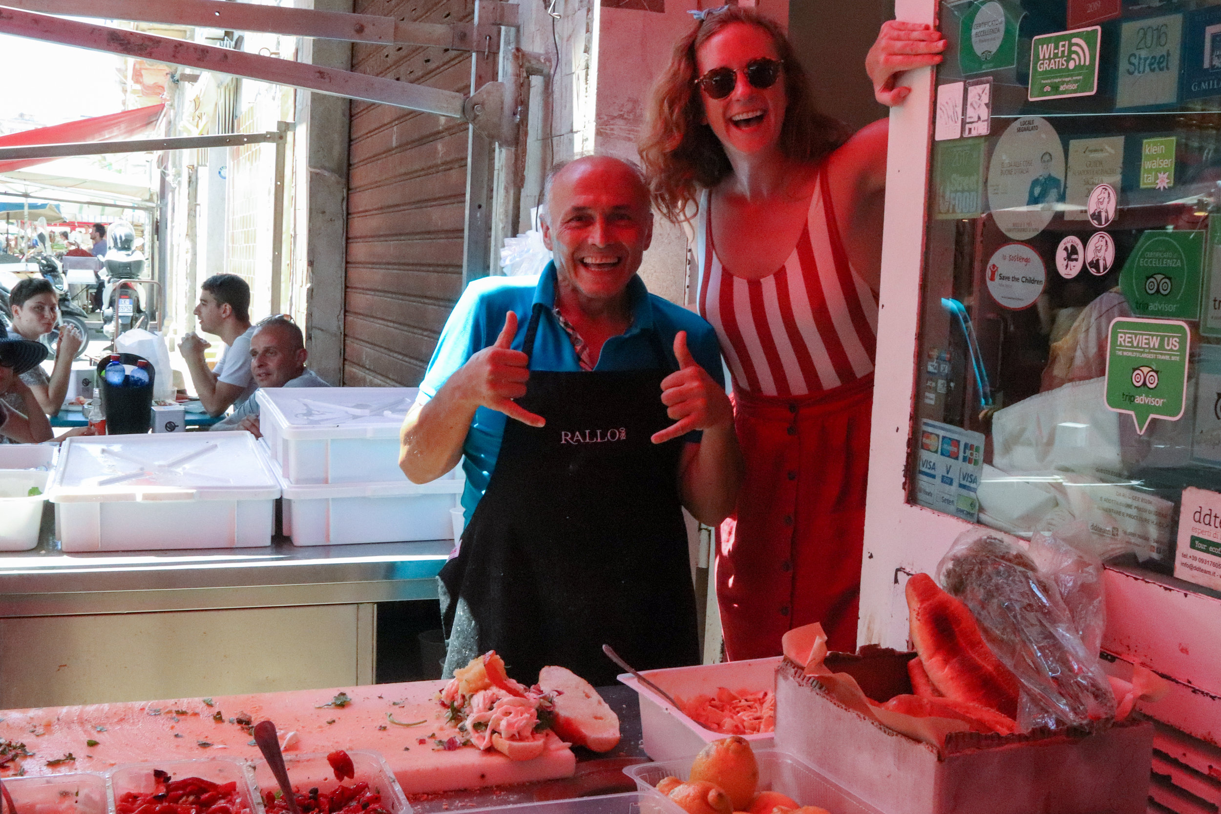 Siracusa Market - the best sandwiches are made by this guy!