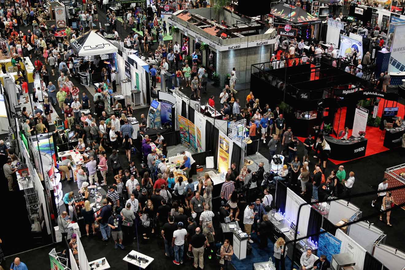 With hundreds of exhibitors, there was a lot to see.