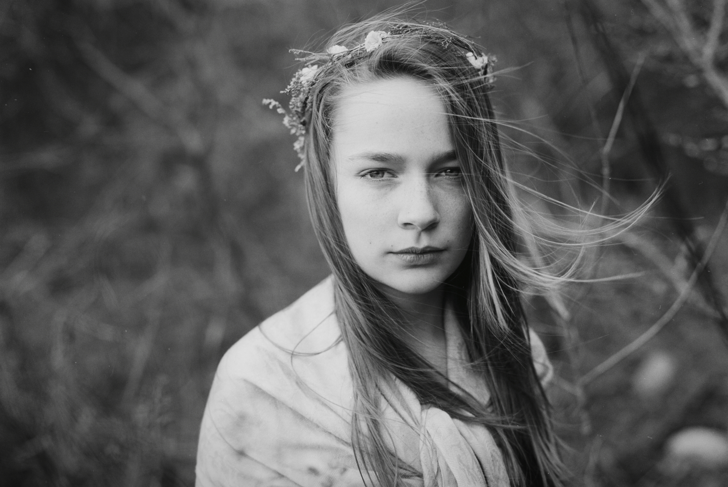 girl in flower crown northampton