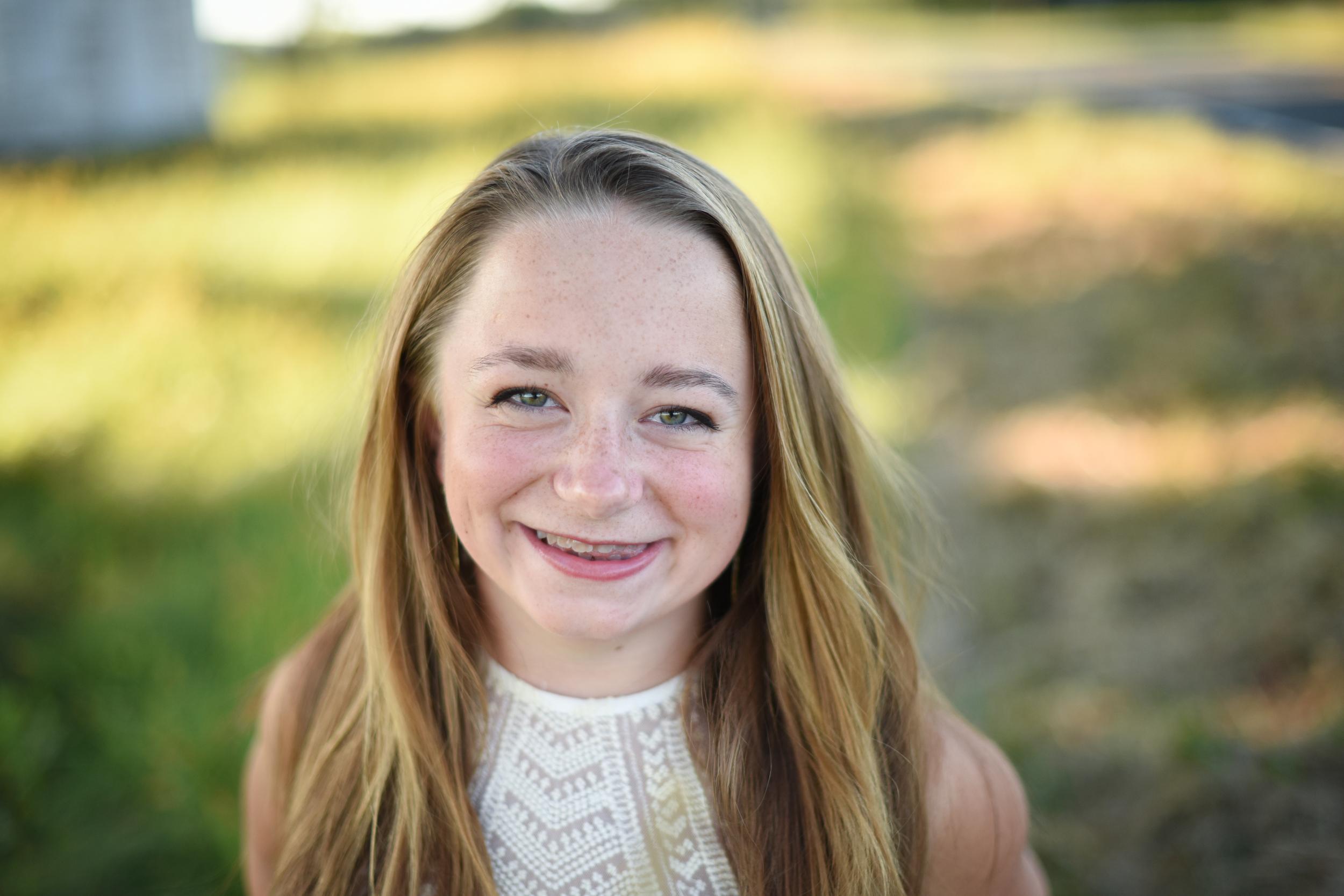 High School Portrait in Amherst