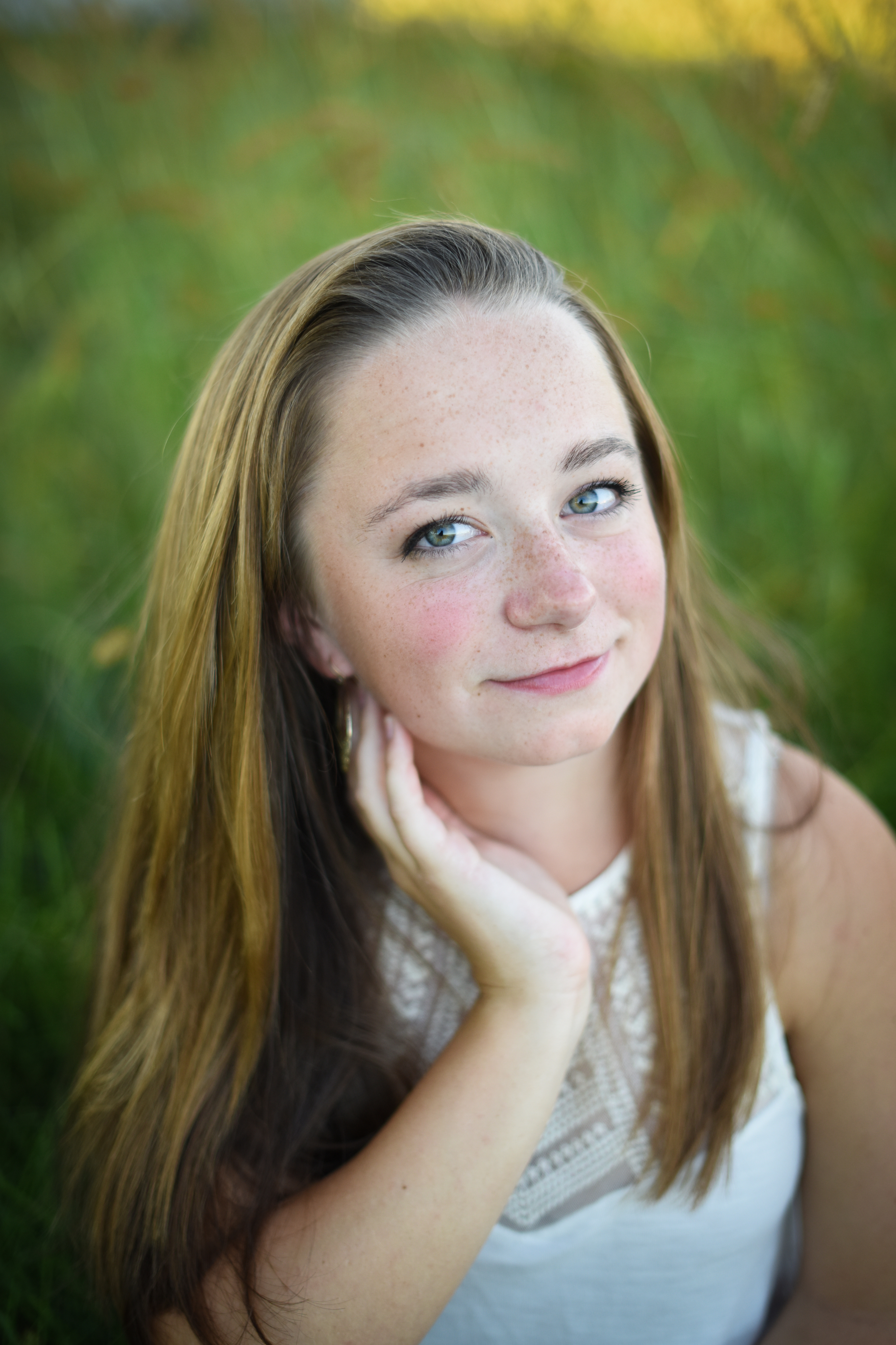 Senior Portrait Photographer in Amherst MA