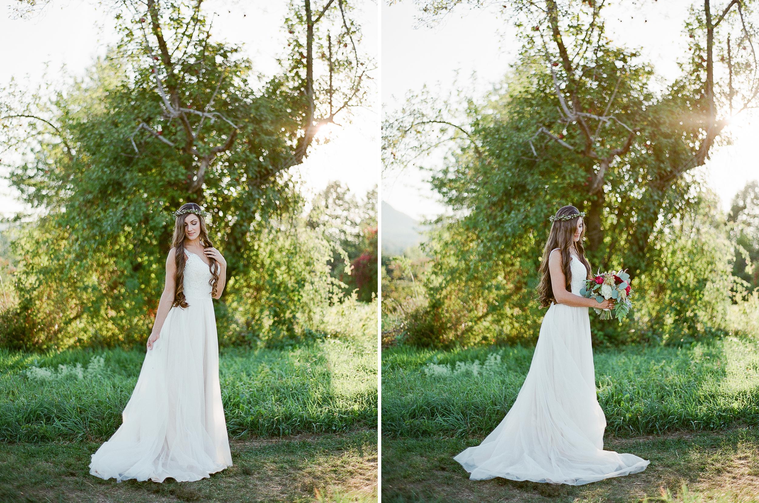 Romantic Bridal Inspiration by Melanie Zacek