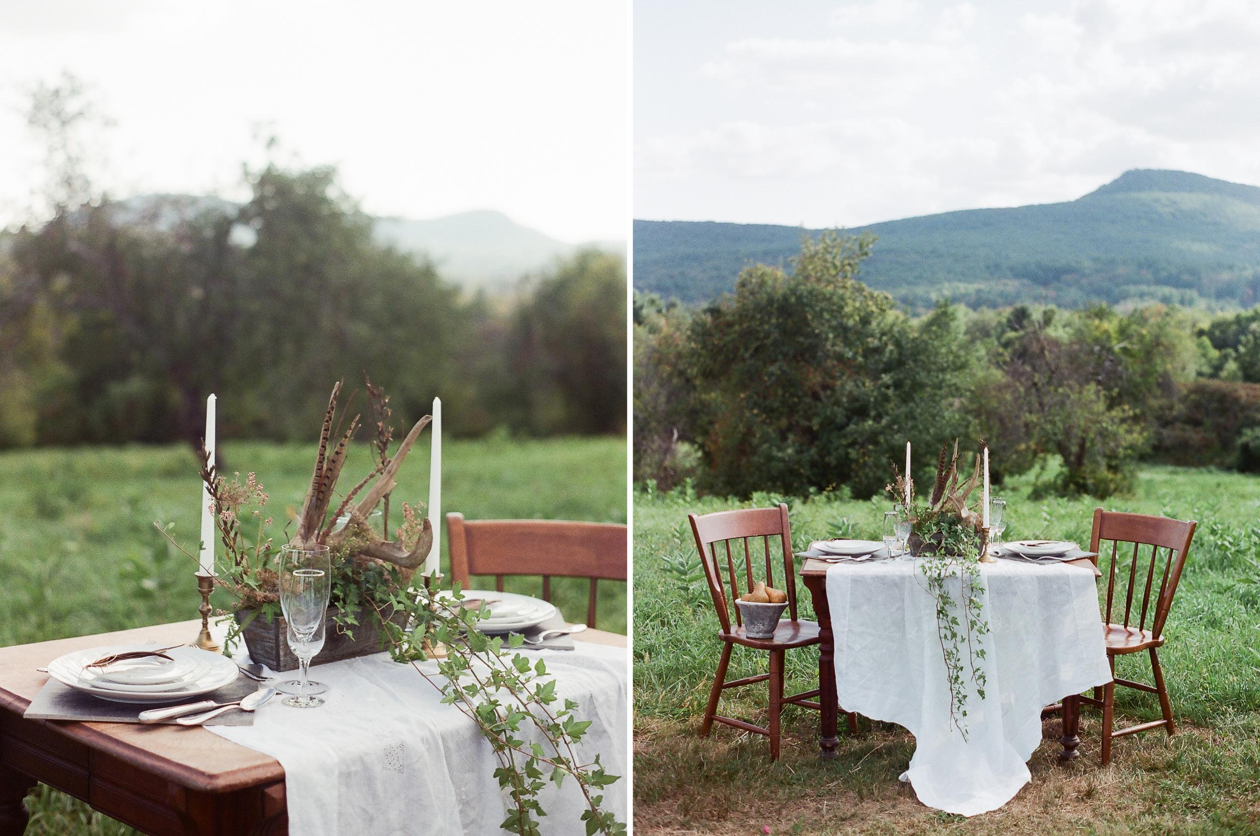 Simple, Elegant Wedding Table
