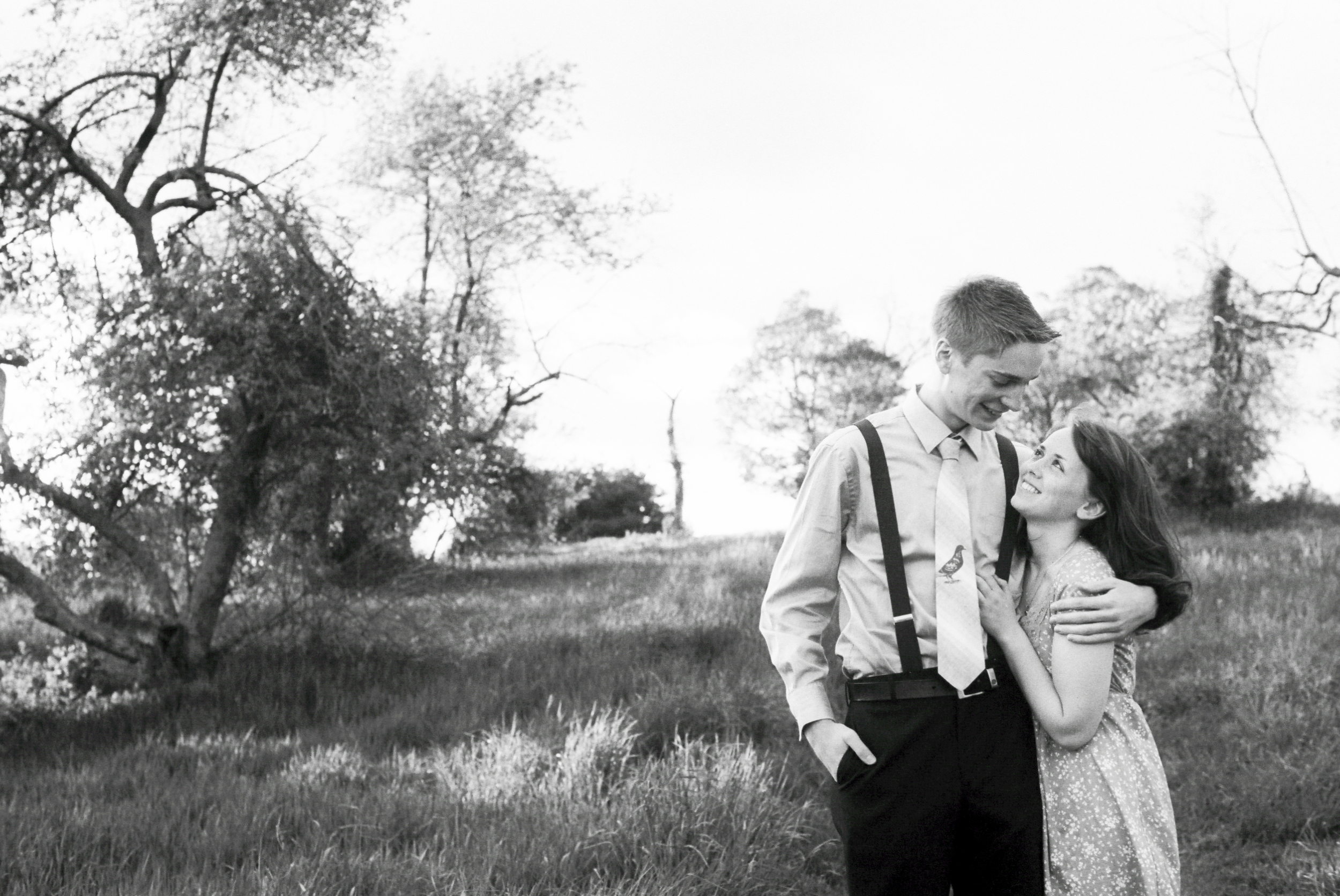 Engagement session in Amherst MA