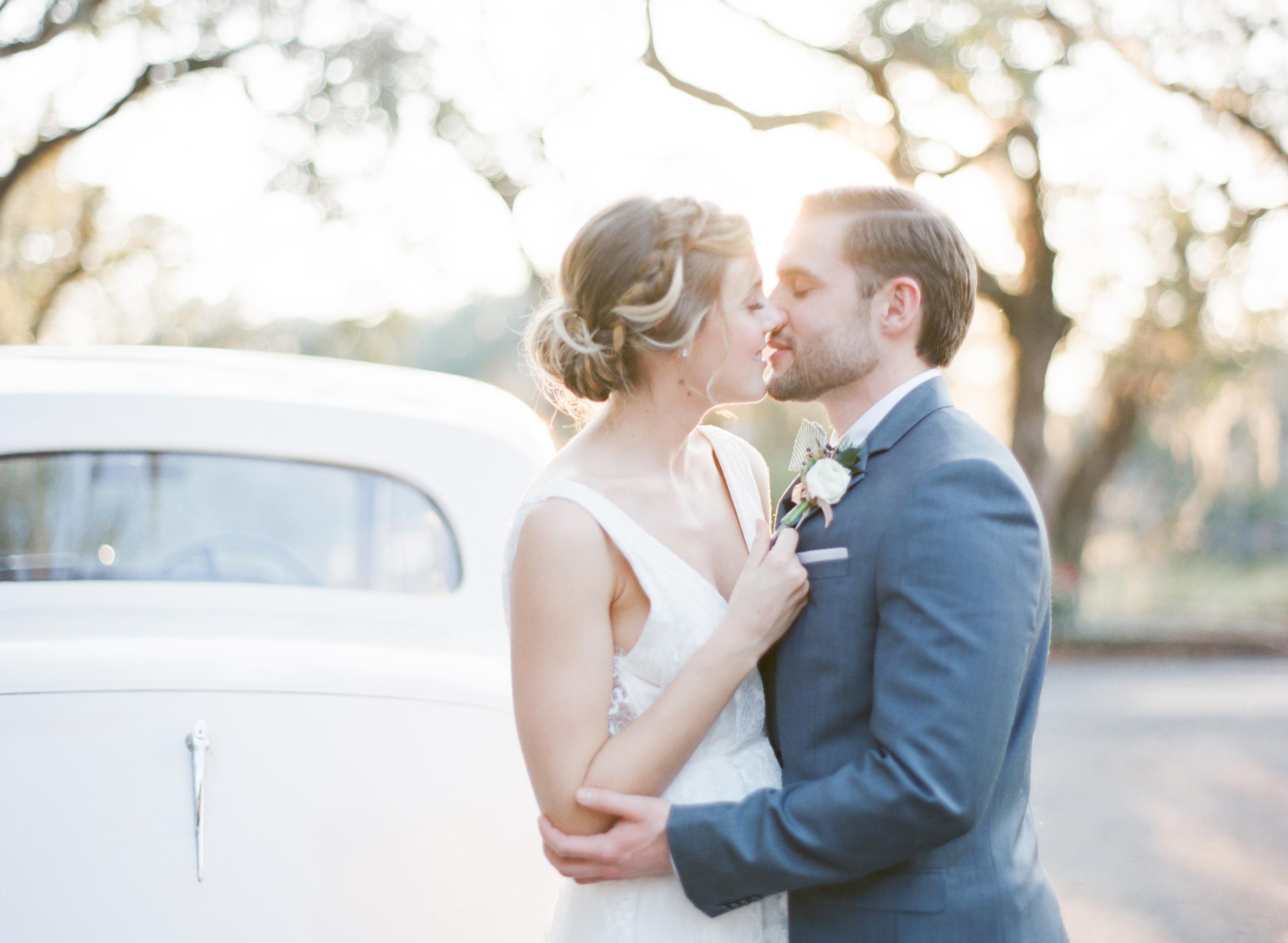 Bride and Groom Savannah