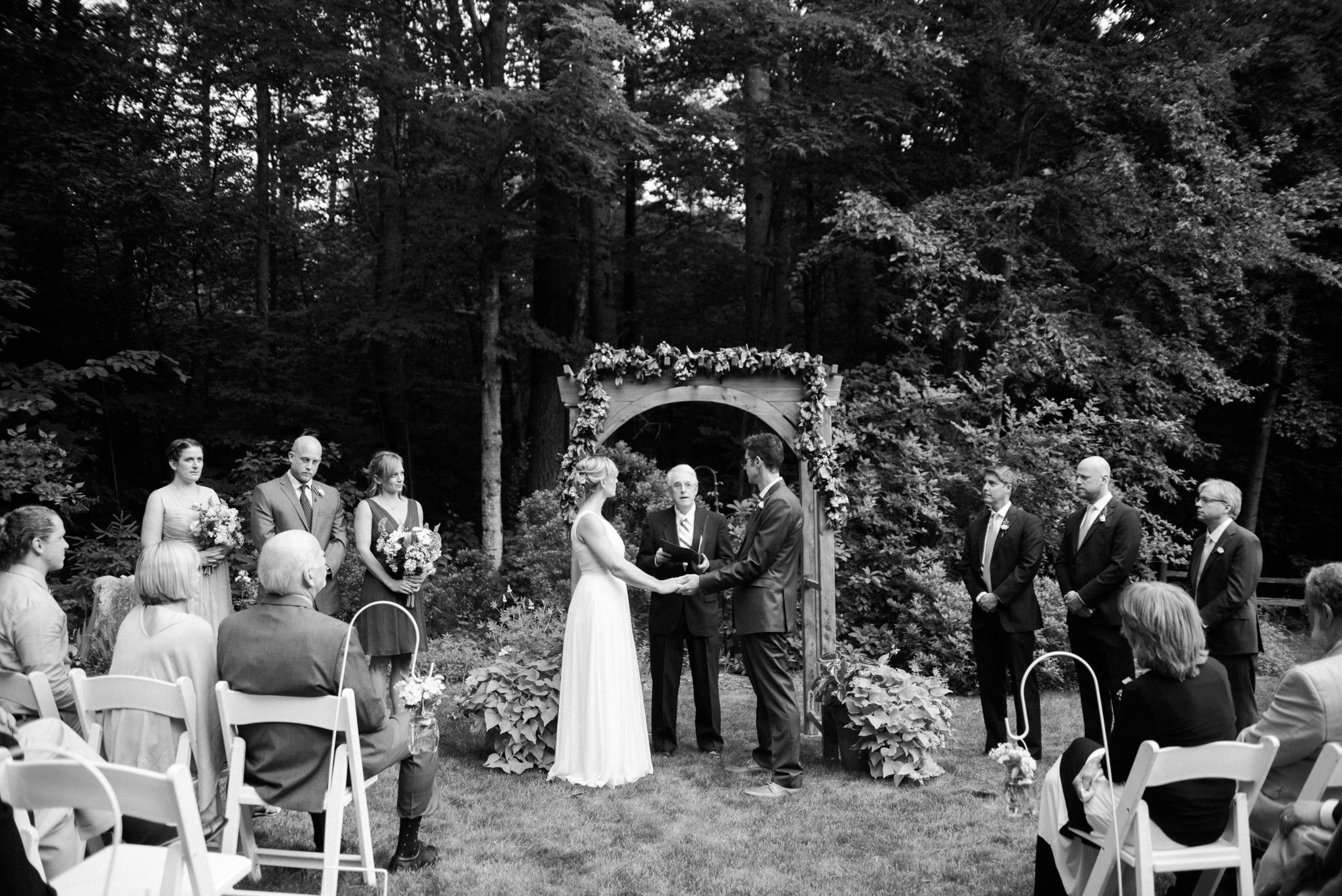 Western MA Backyard Weddings