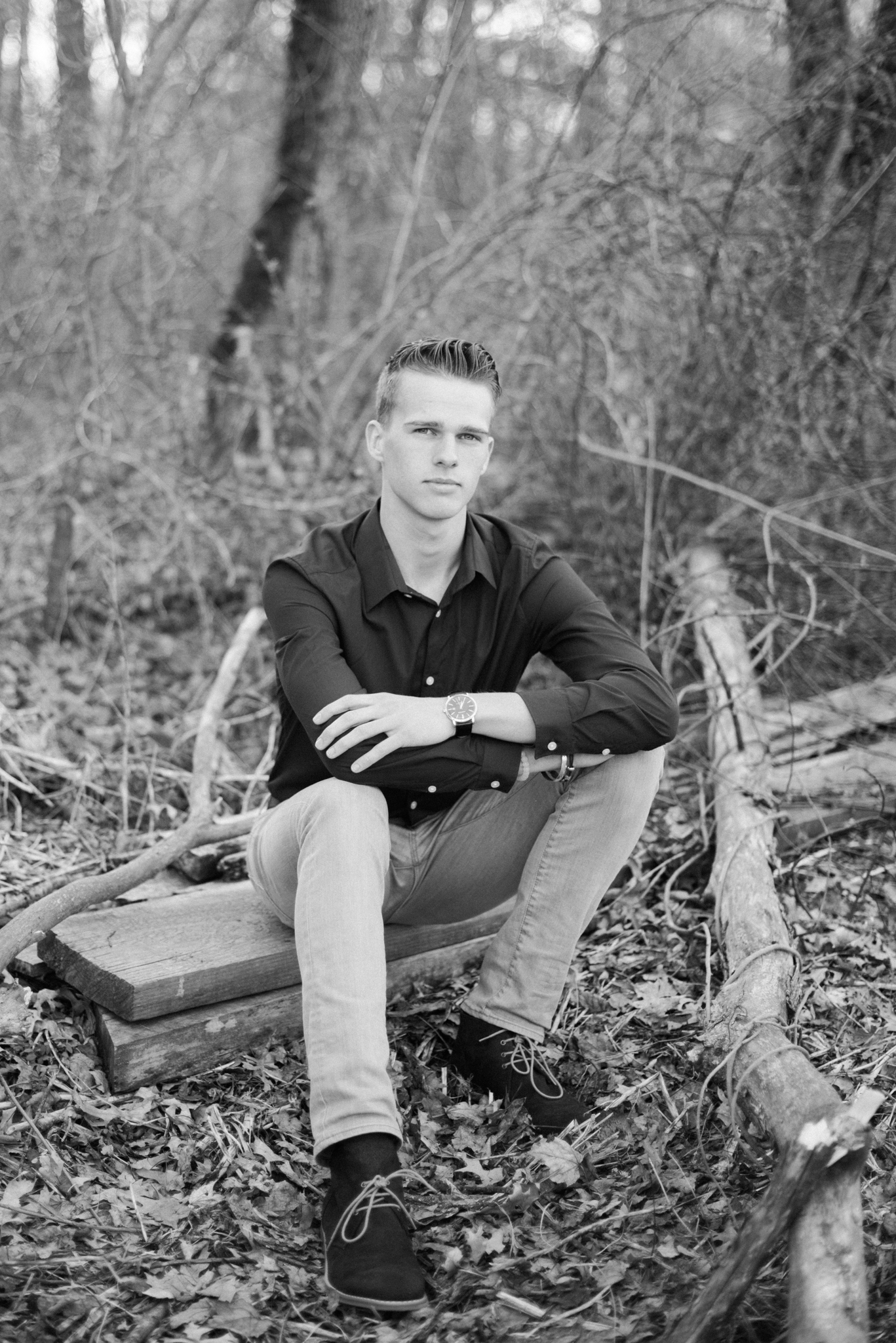 Yearbook Portrait Photographer in Western MA