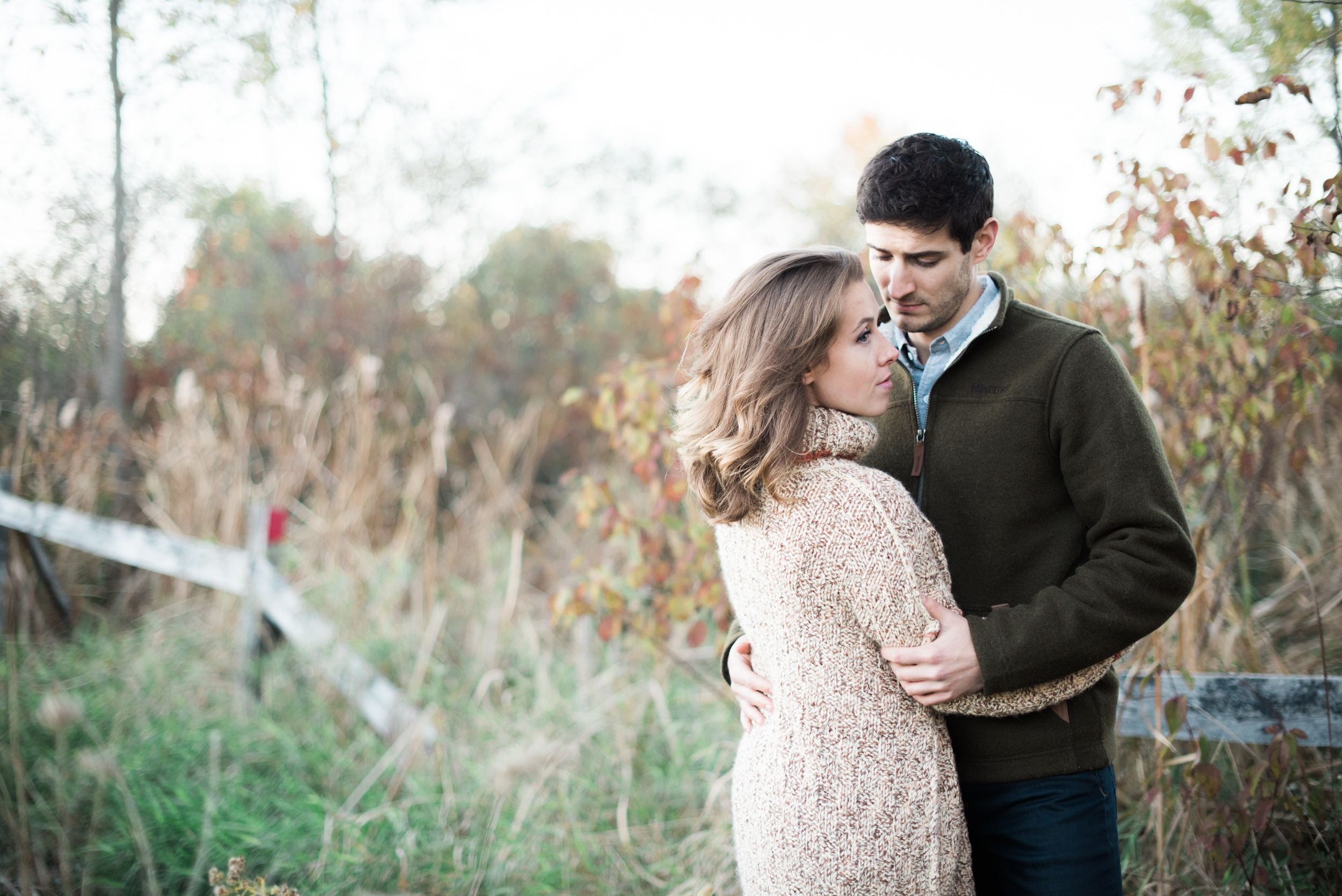 Romantic Engagement Photography in MA