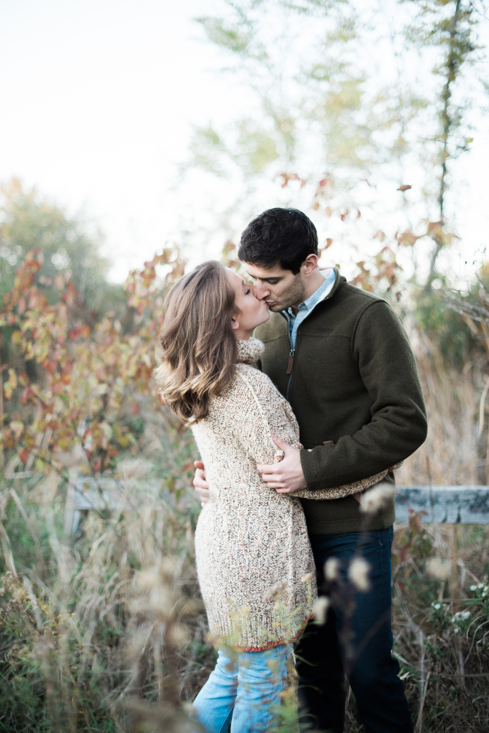 Fall Engagement Sessions in Mass