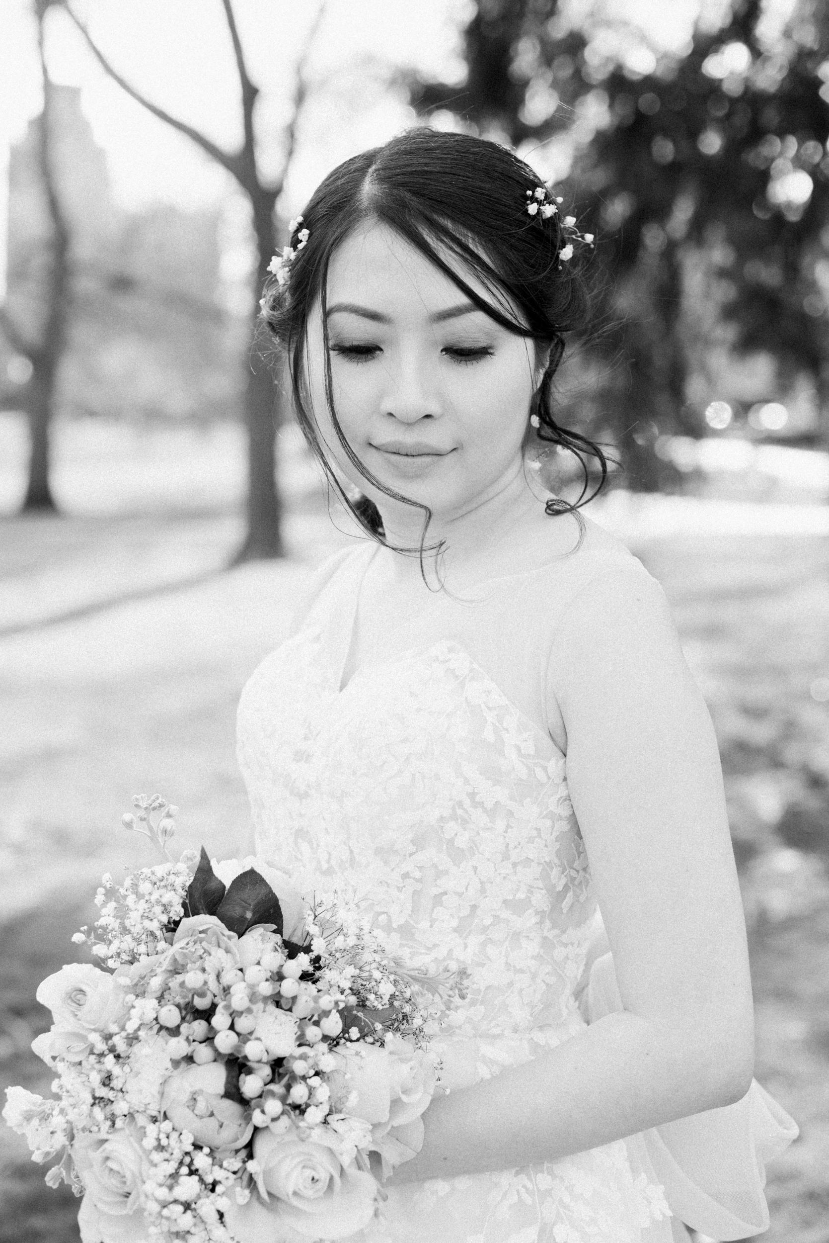 Bridal Portraits in Boston