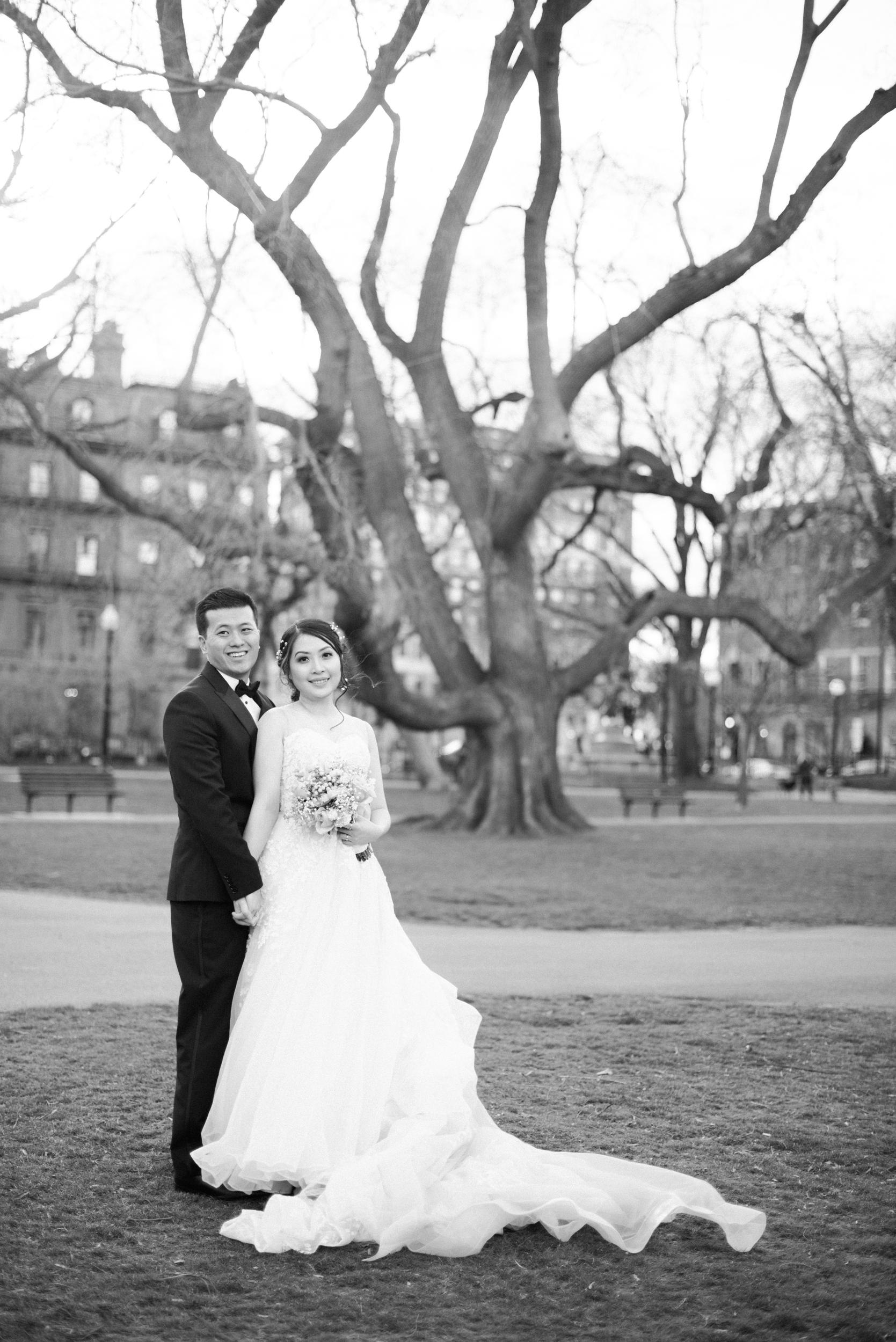 Boston Public Garden Wedding