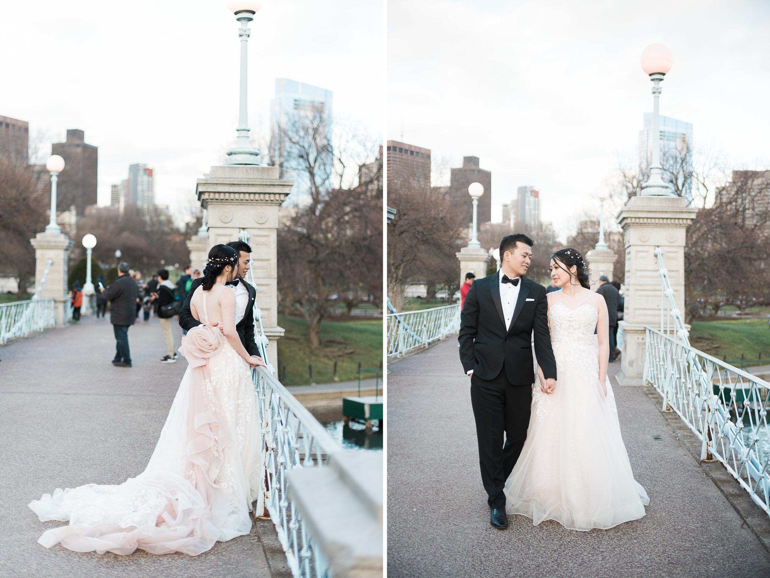 Boston Public Garden Wedding Photos