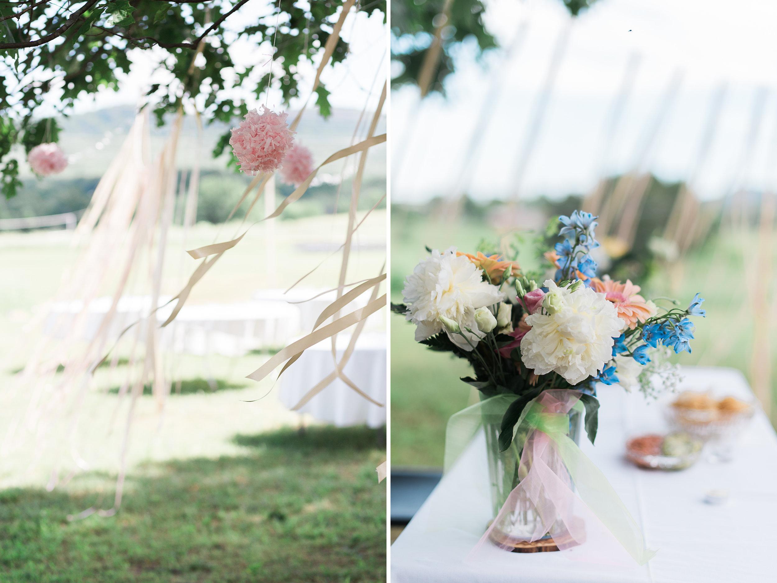 Backyard Wedding Photography in the Berkshires