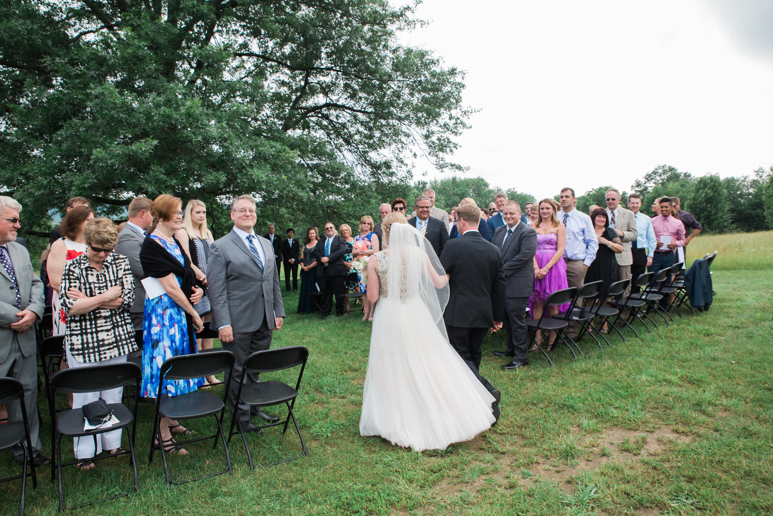 Red Barn Amherst Wedding