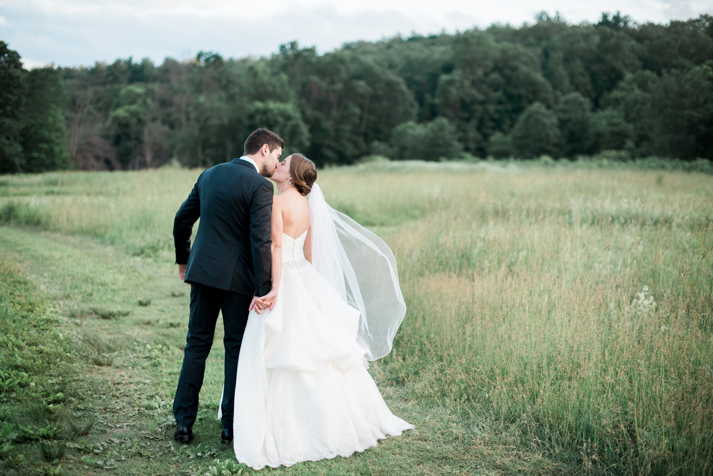Timeless wedding photography in Western Mass