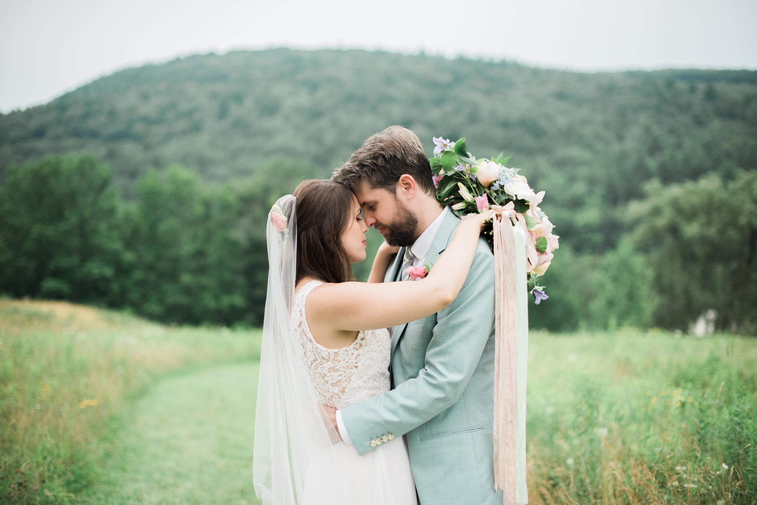Outdoor Wedding photography in the berkshires
