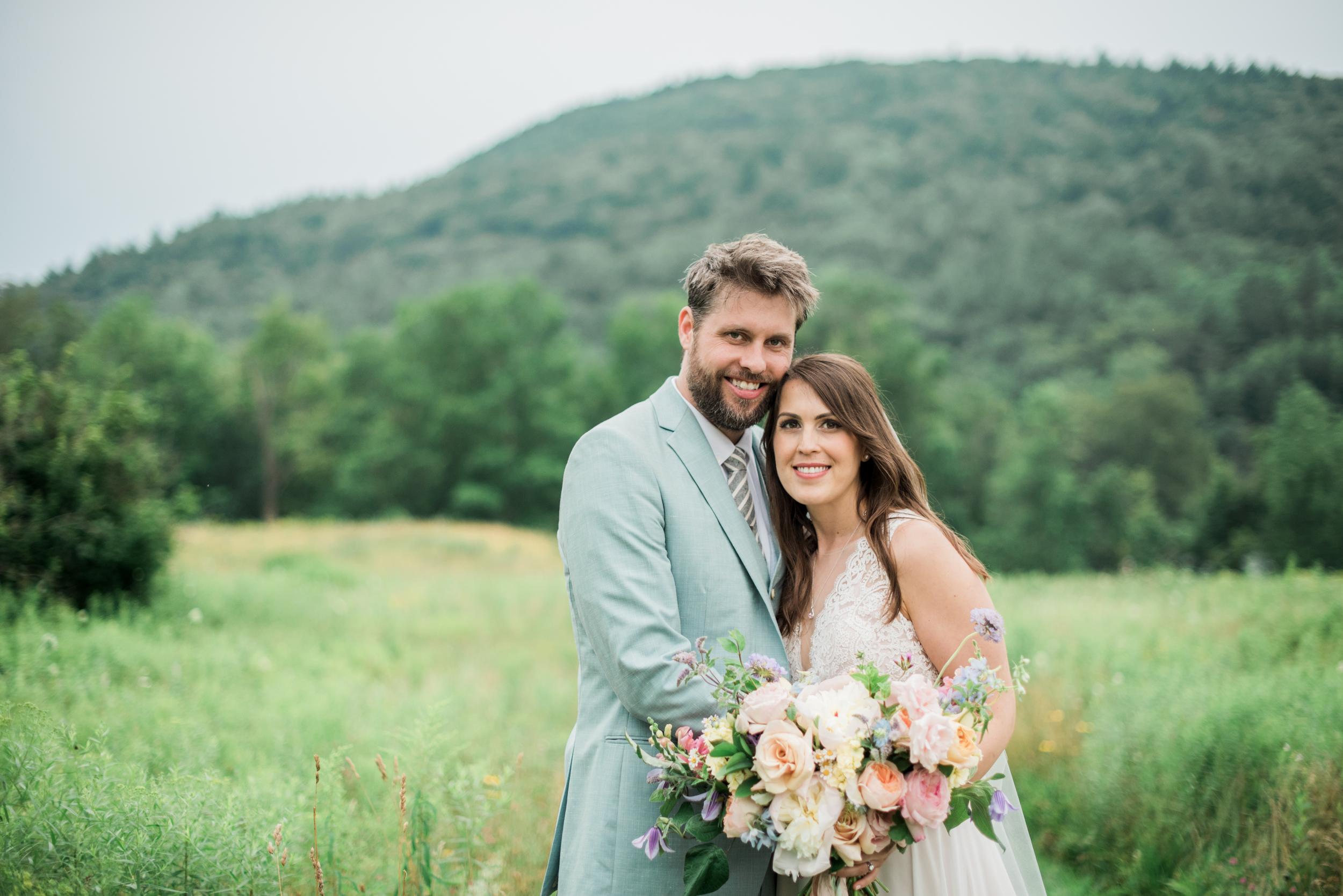 Bucolic New England Wedding