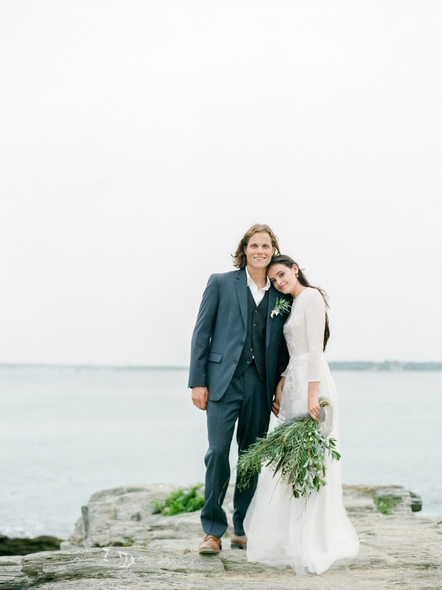 Anniversary Portrait Session in Rhode Island