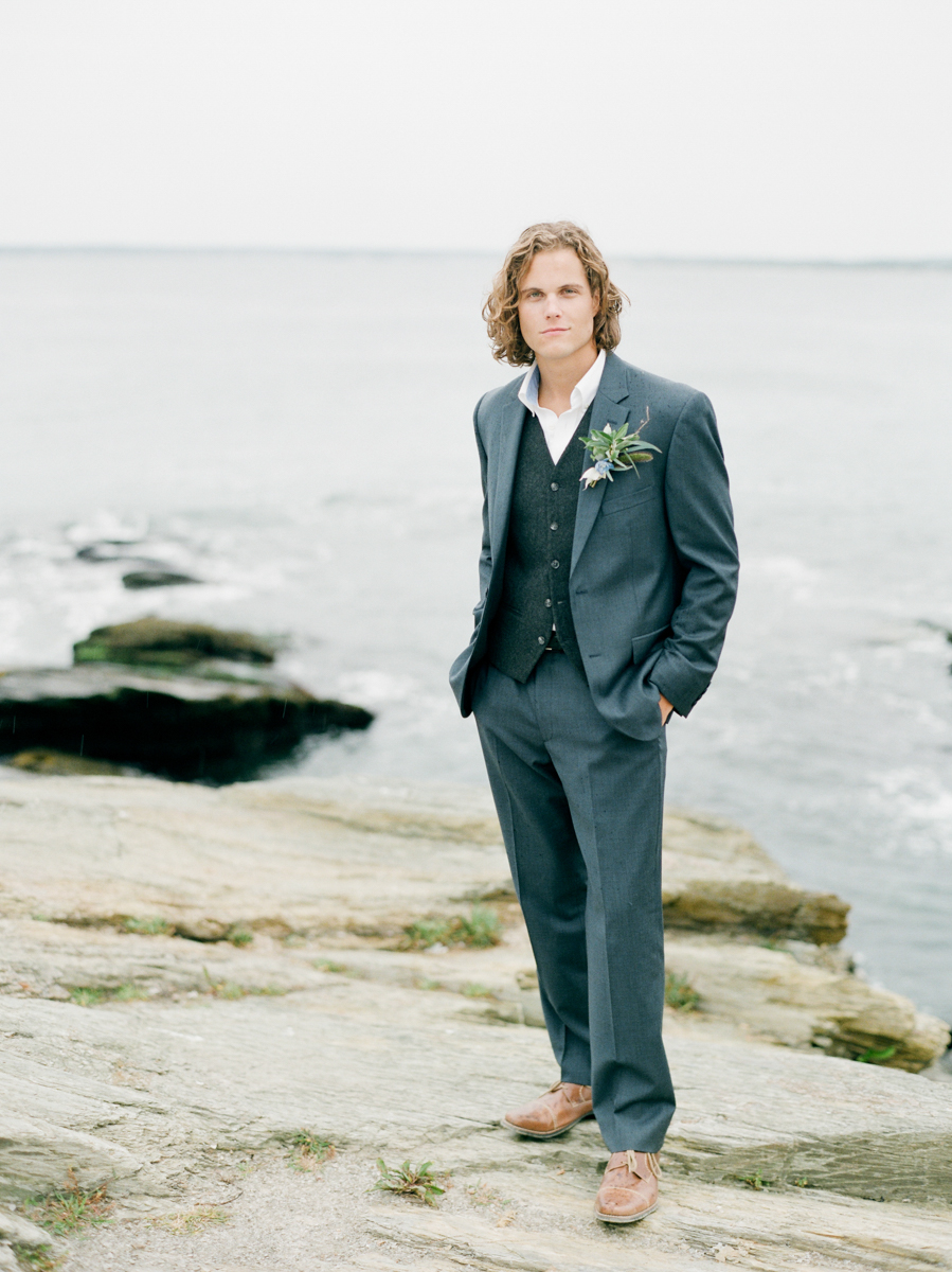 Grooms Portrait in Boston