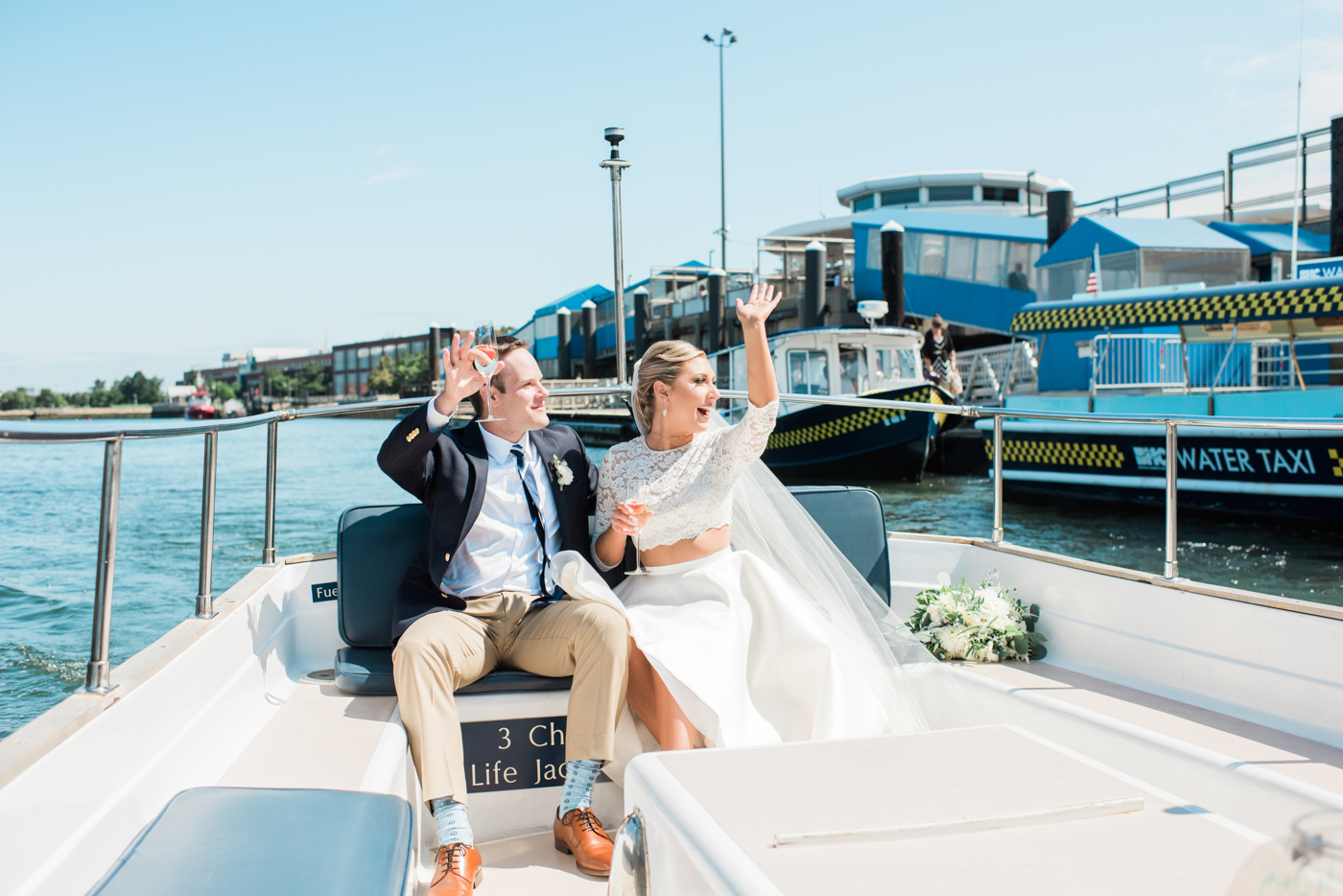 Boston Harbor Cruise Wedding