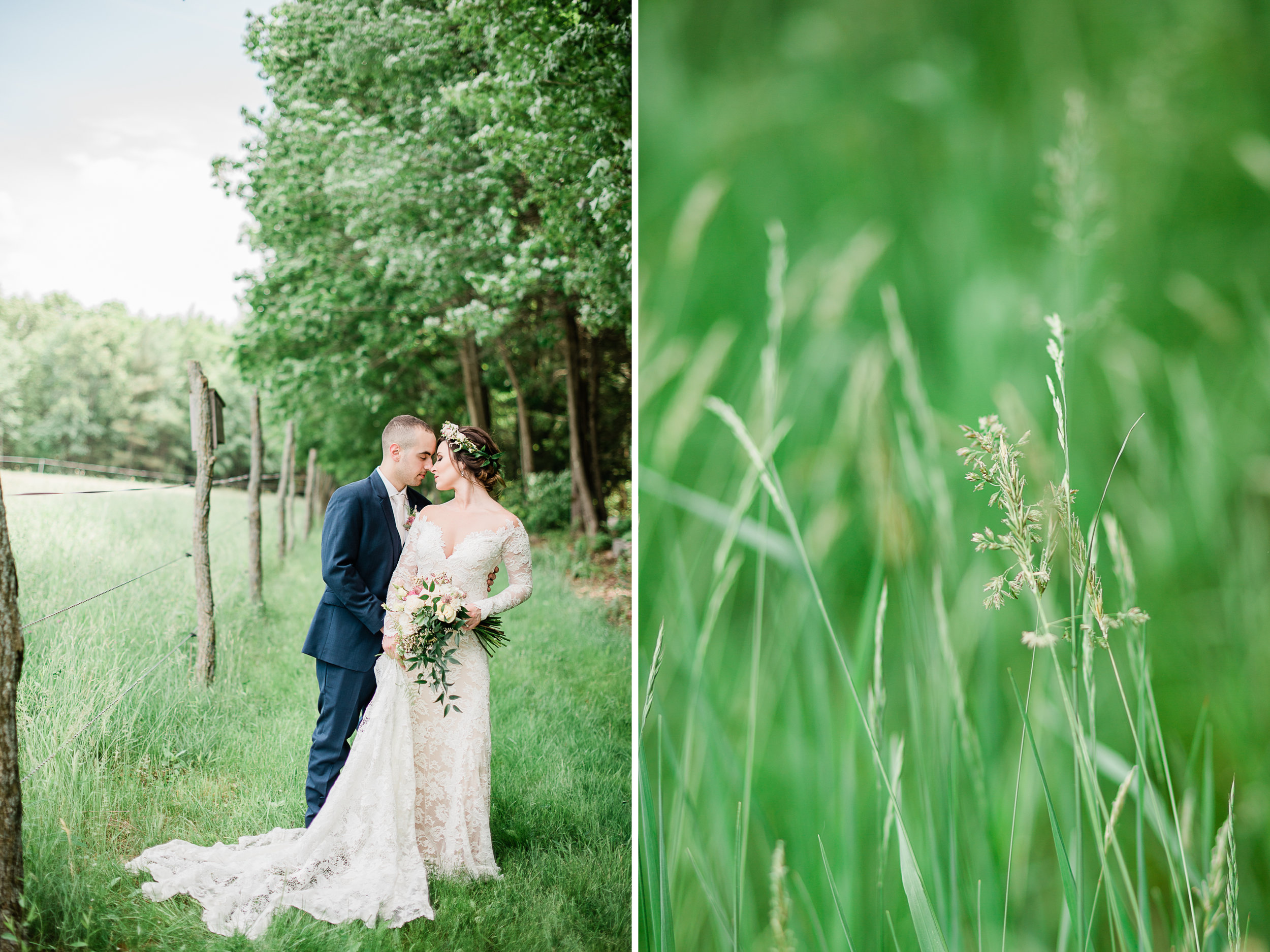 Light & Airy Wedding Photography in Western Mass