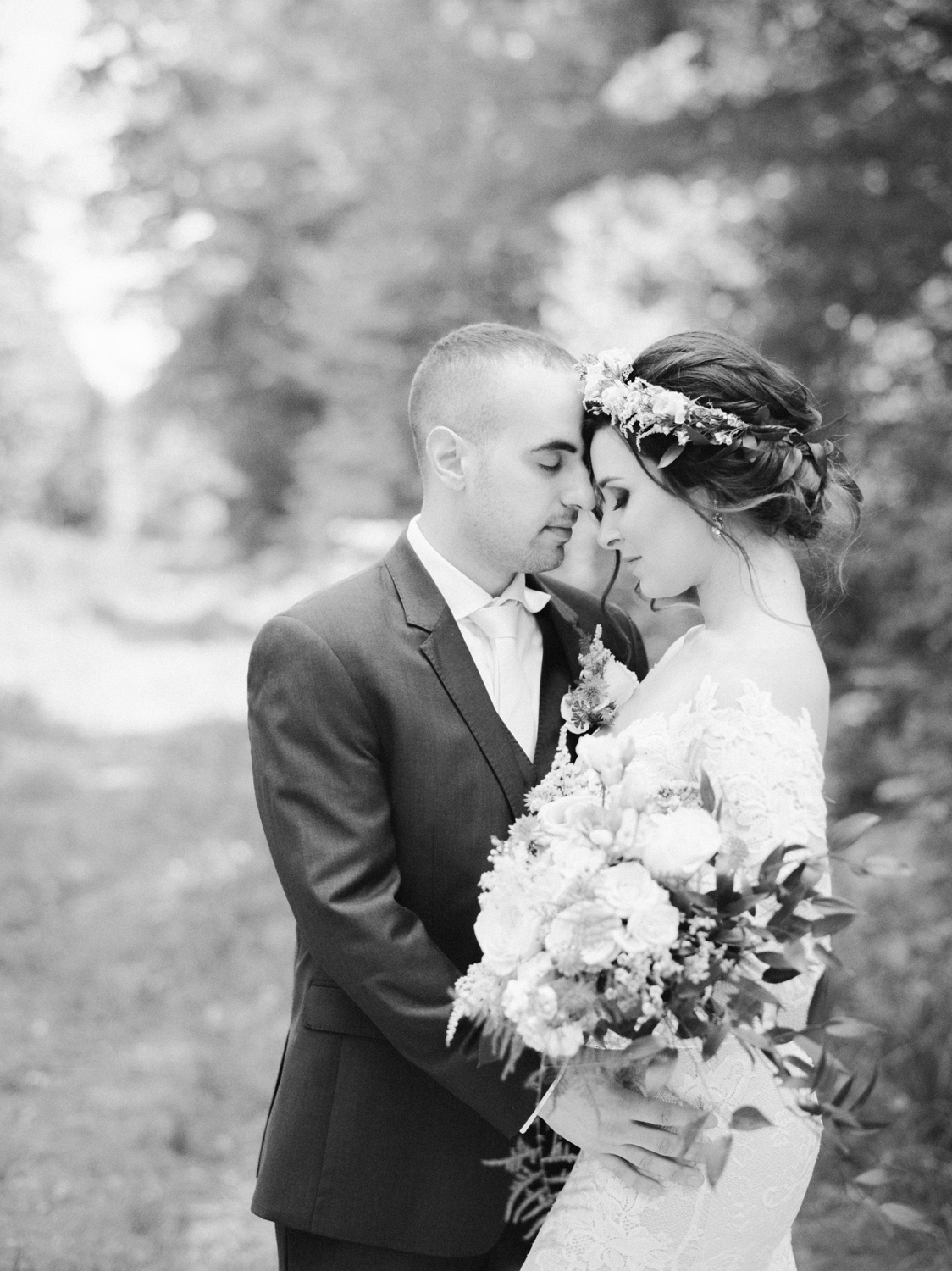 Timeless wedding photography in Amherst MA