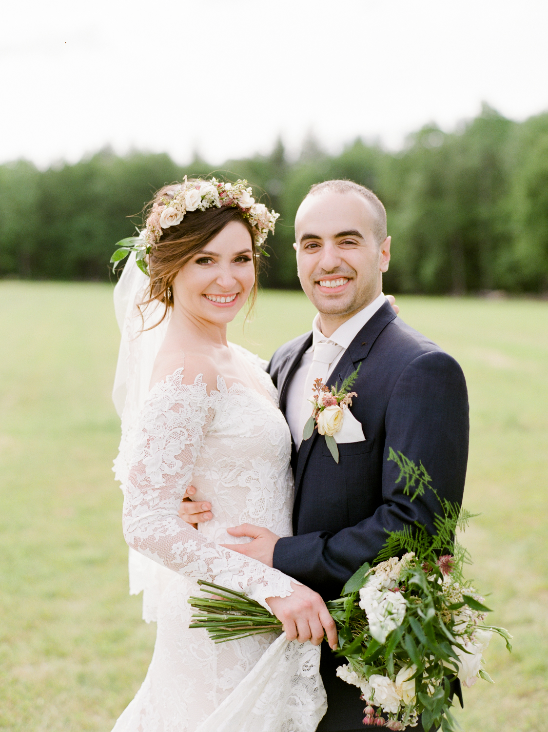 Natural Wedding Photography in CT