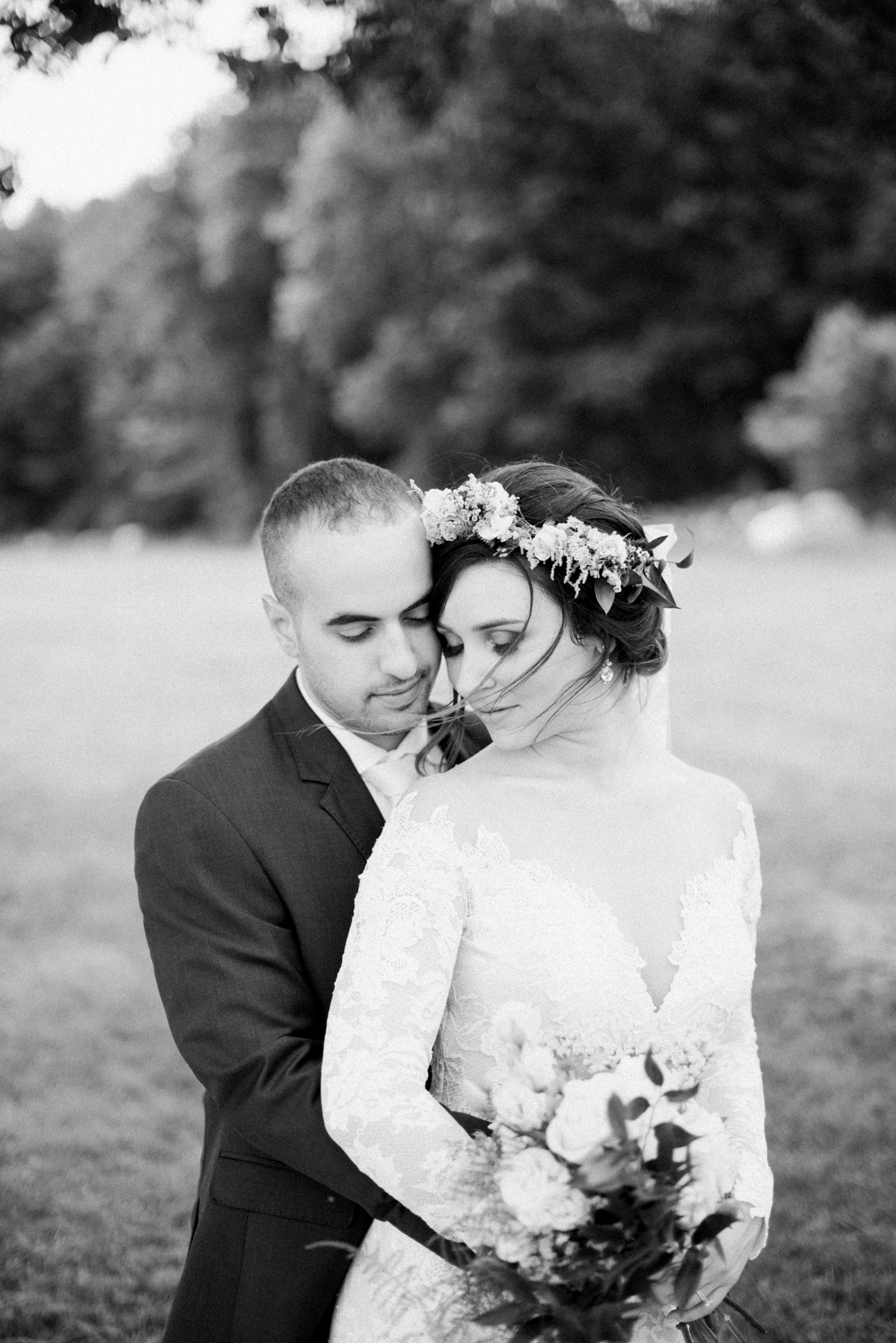 Romantic wedding Photography in Amherst Ma