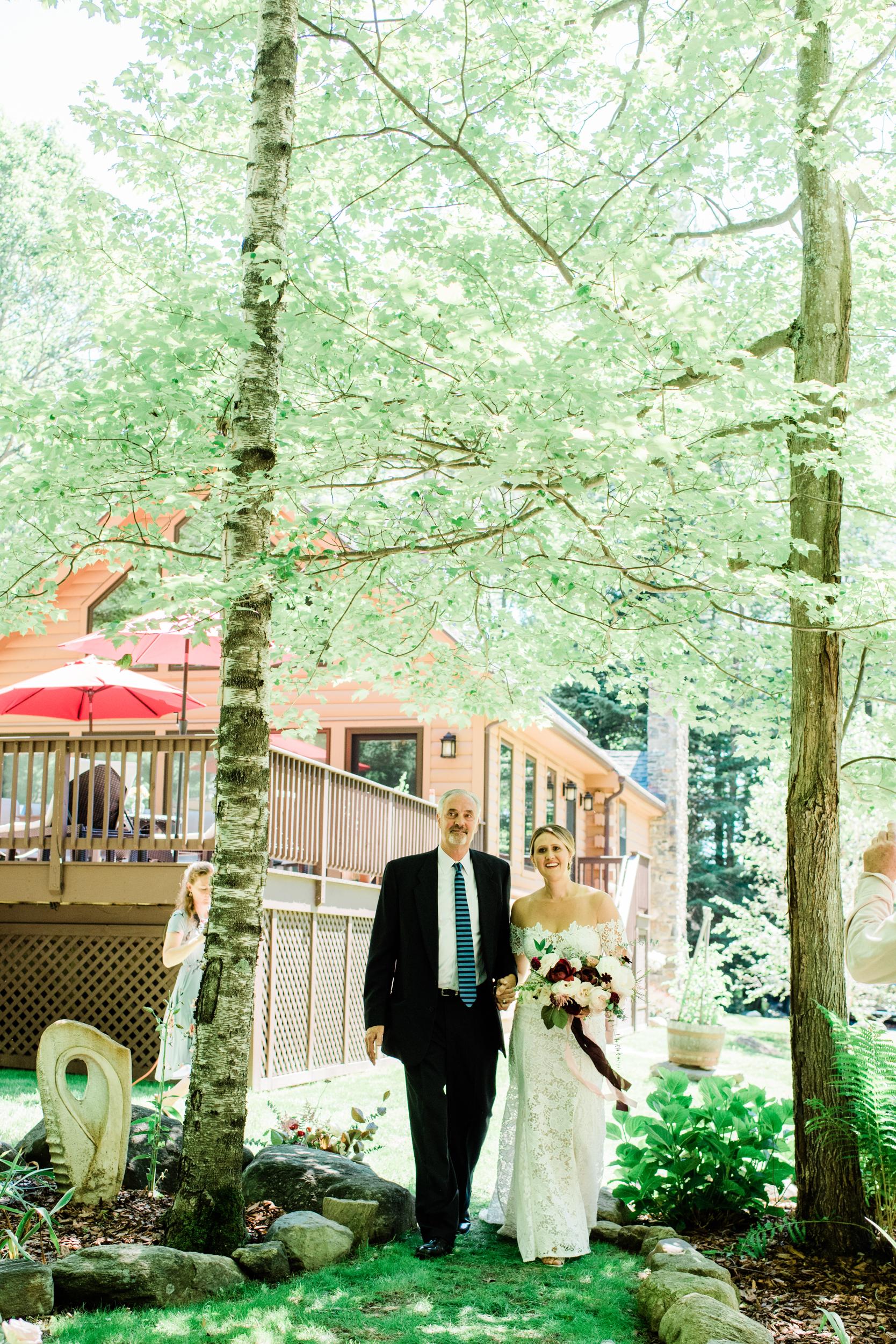 Stockbridge Backyard wedding