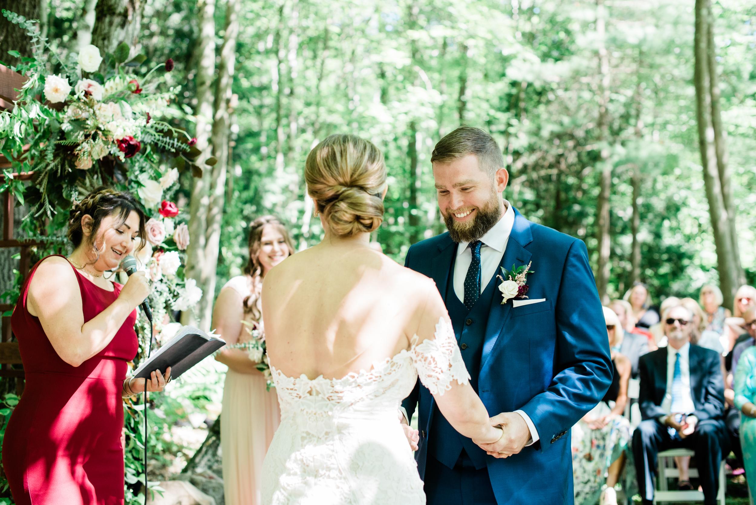 Backyard Wedding in Great Barrington