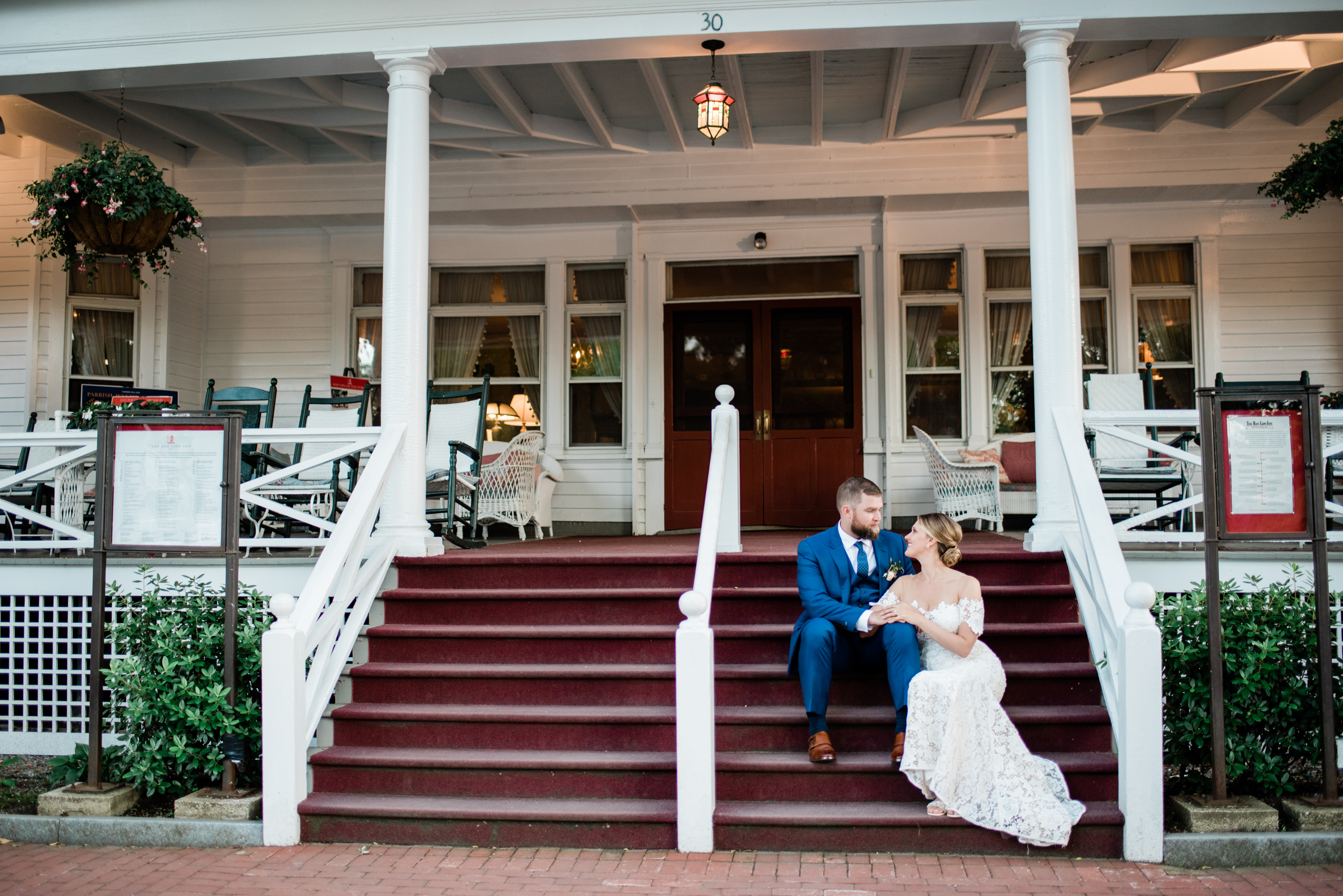 Wedding at the red lion inn