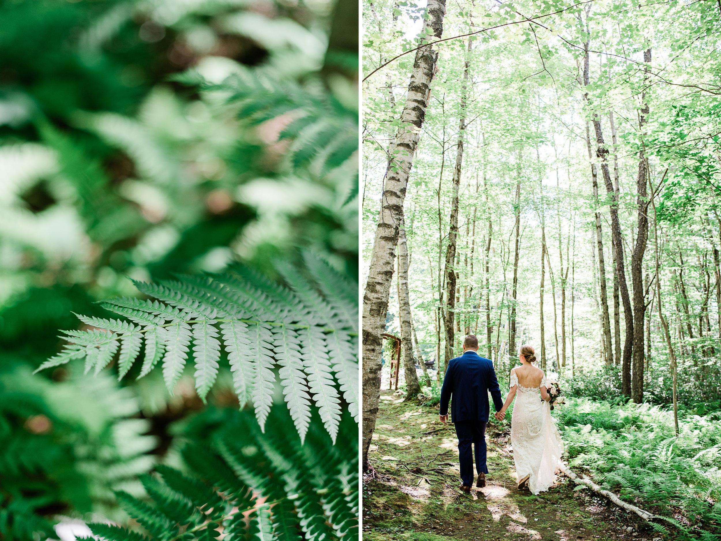 New England Forest Wedding