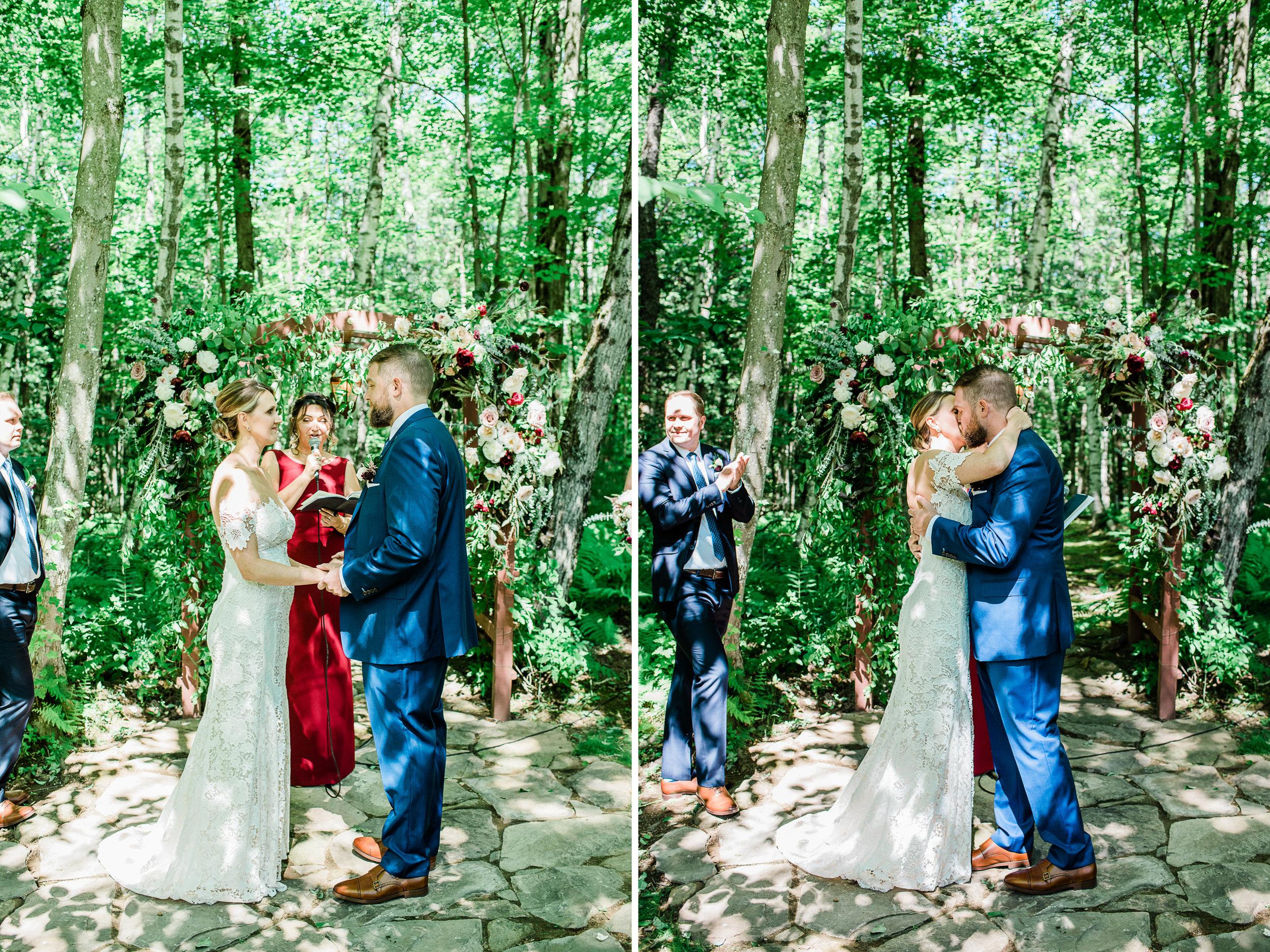 Intimate Wedding Photographer near Stockbridge MA