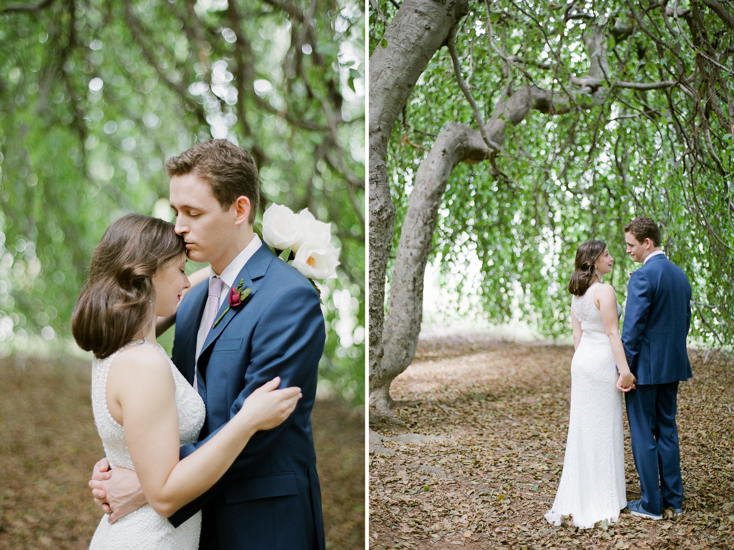 Backyard Wedding in Massachusetts