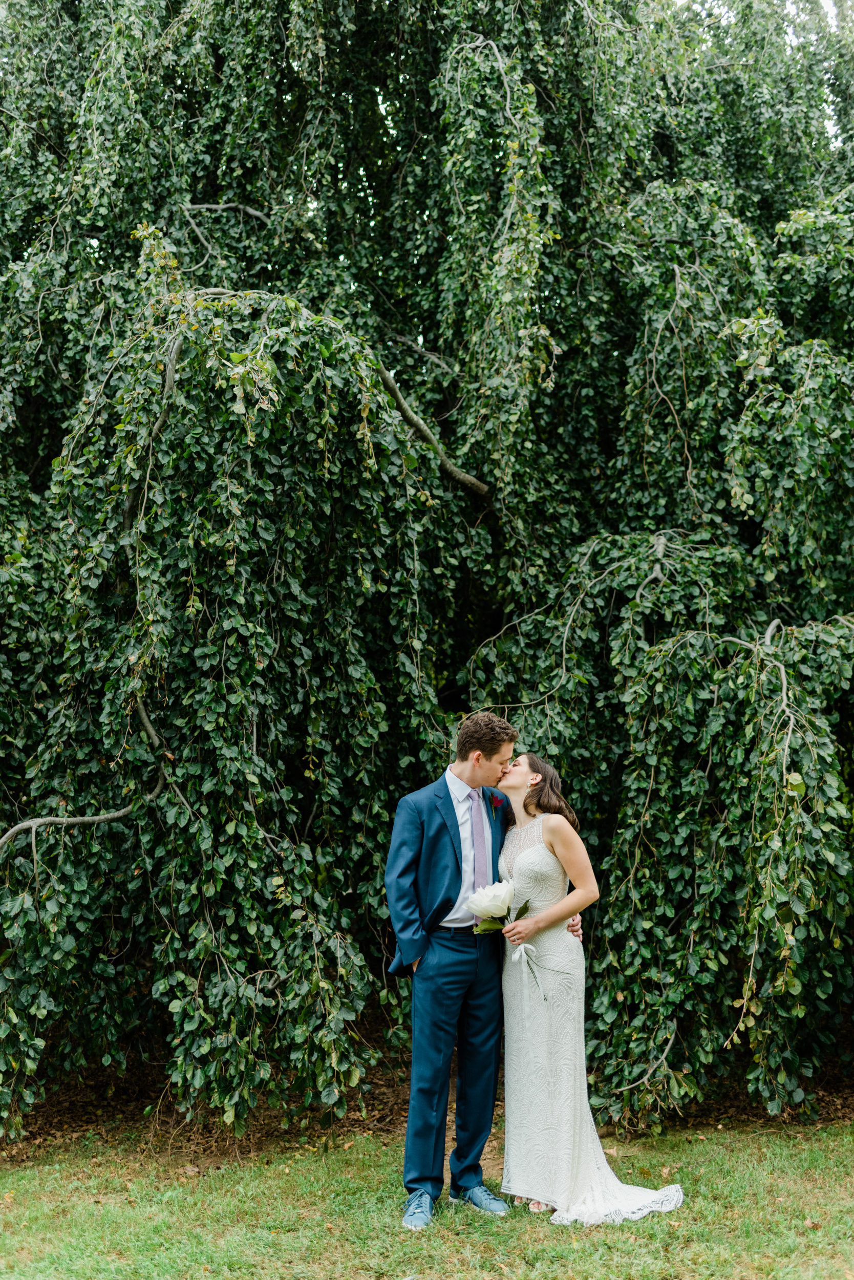 Bride and Groom Portraits in Connecticut