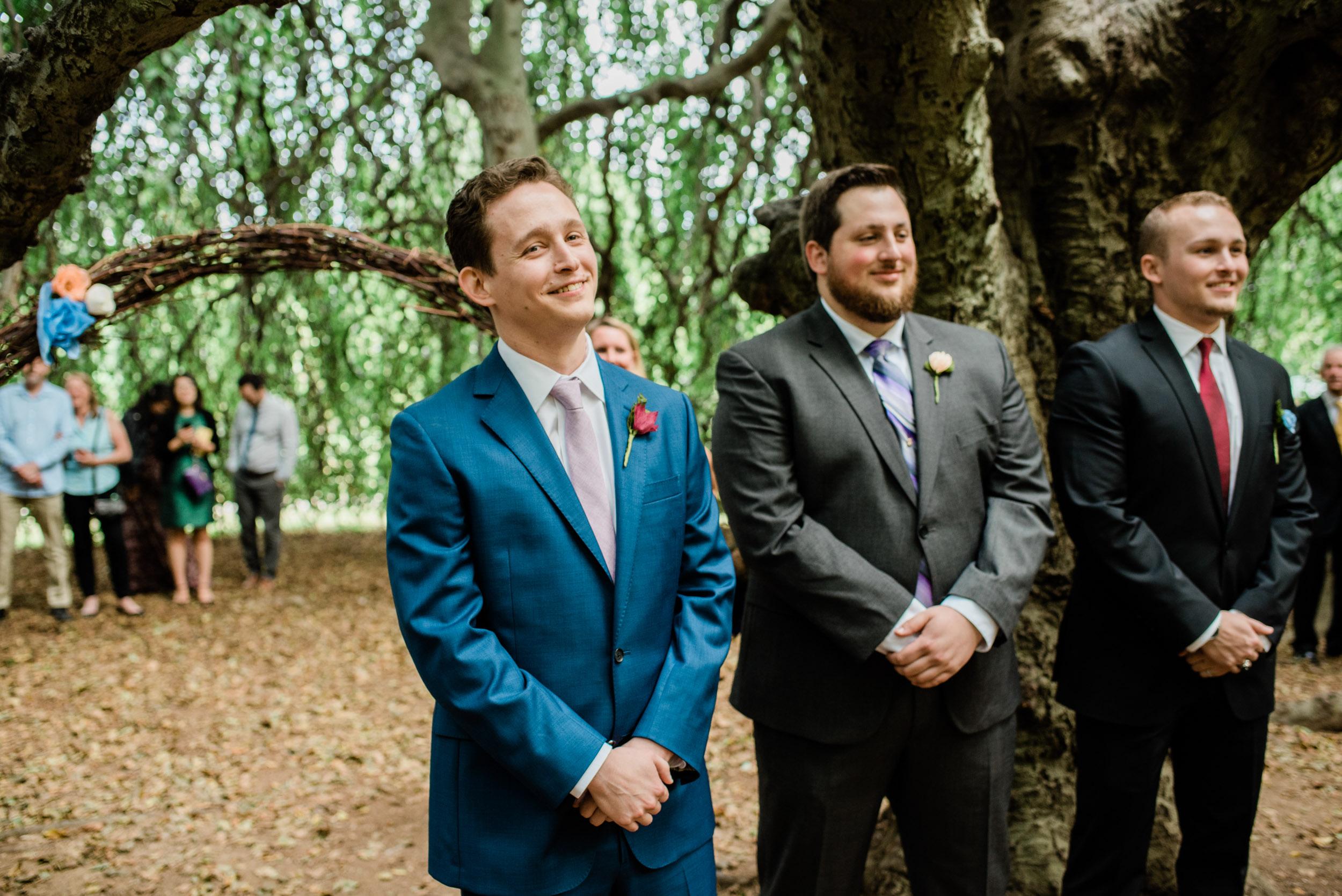 Wedding Day at Gallaher Mansion