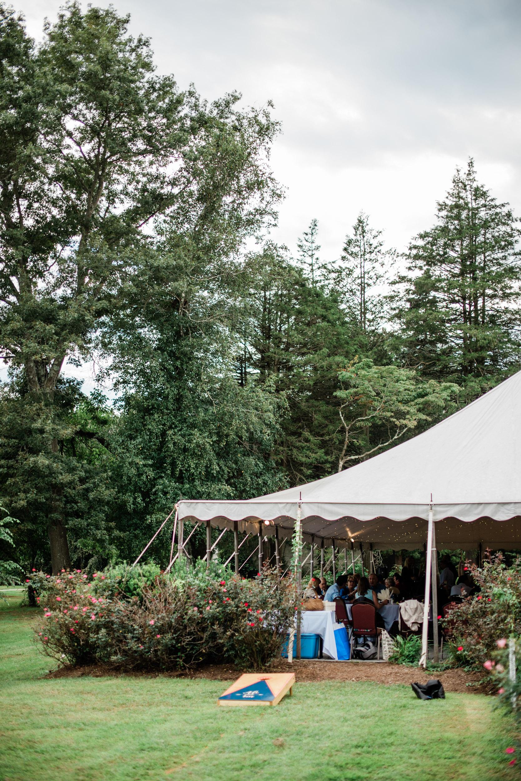 Tented weddings in Massachusetts
