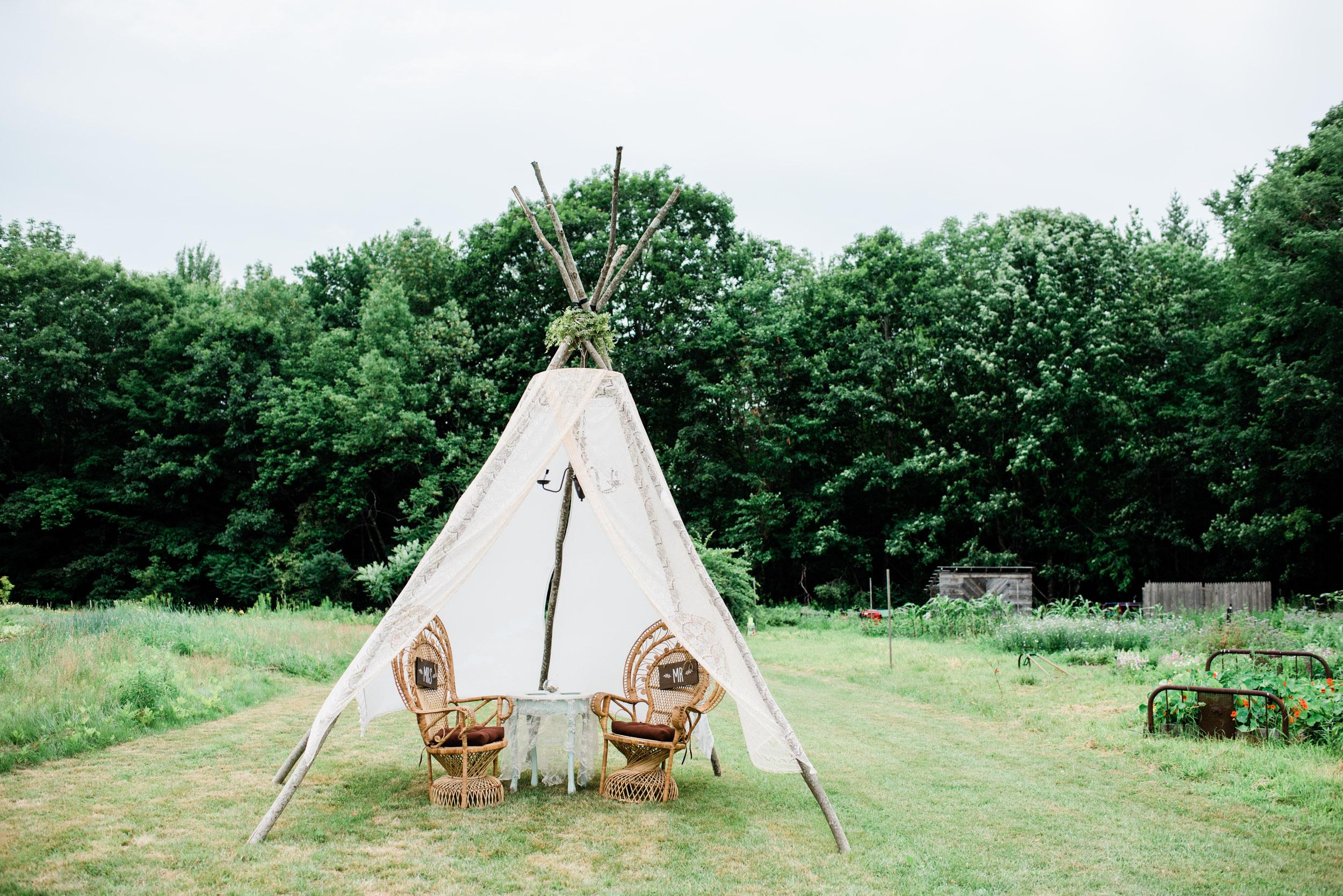 Bohemian Wedding Venue in Maine