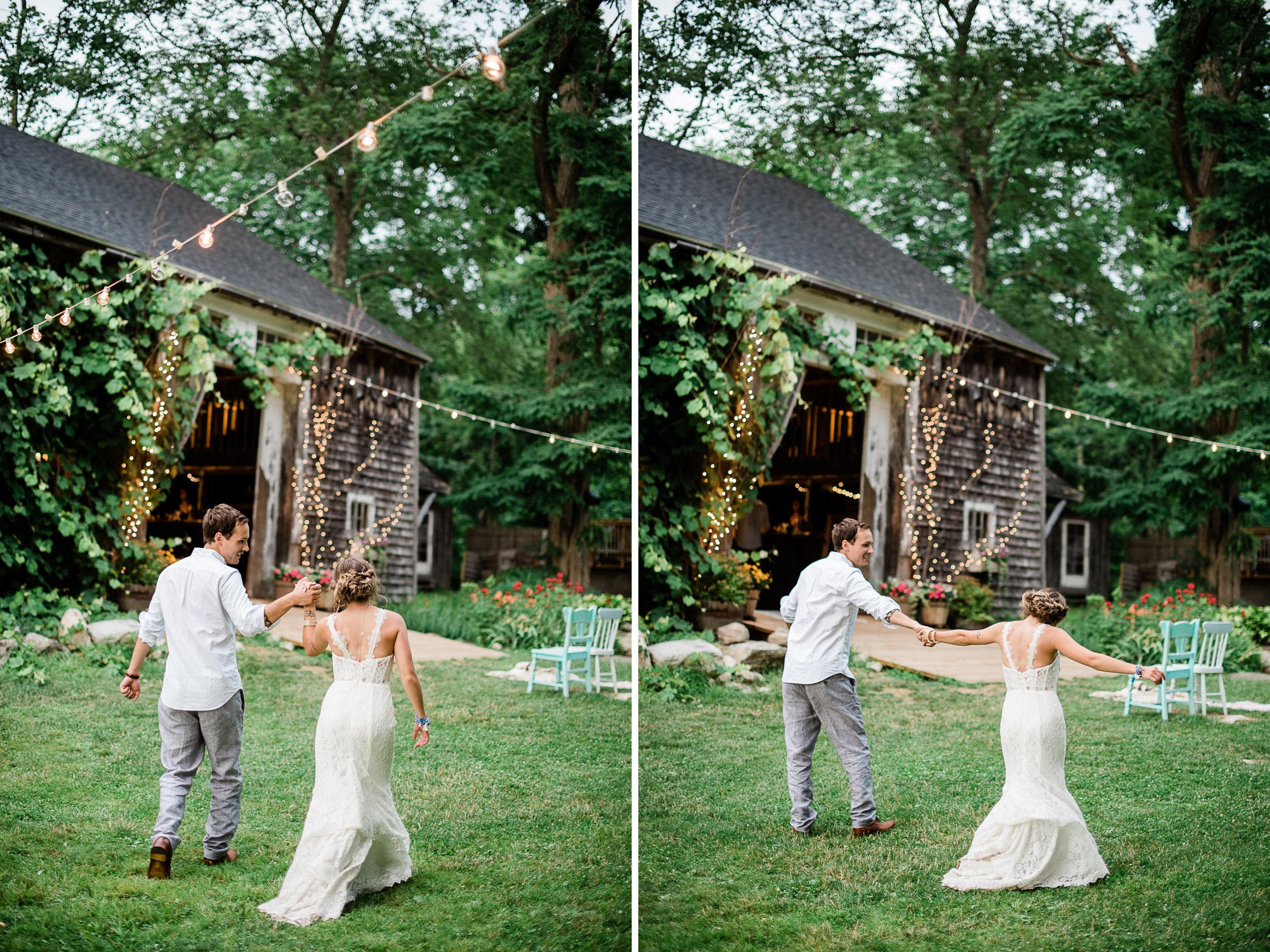 Caswell Farm Wedding ME