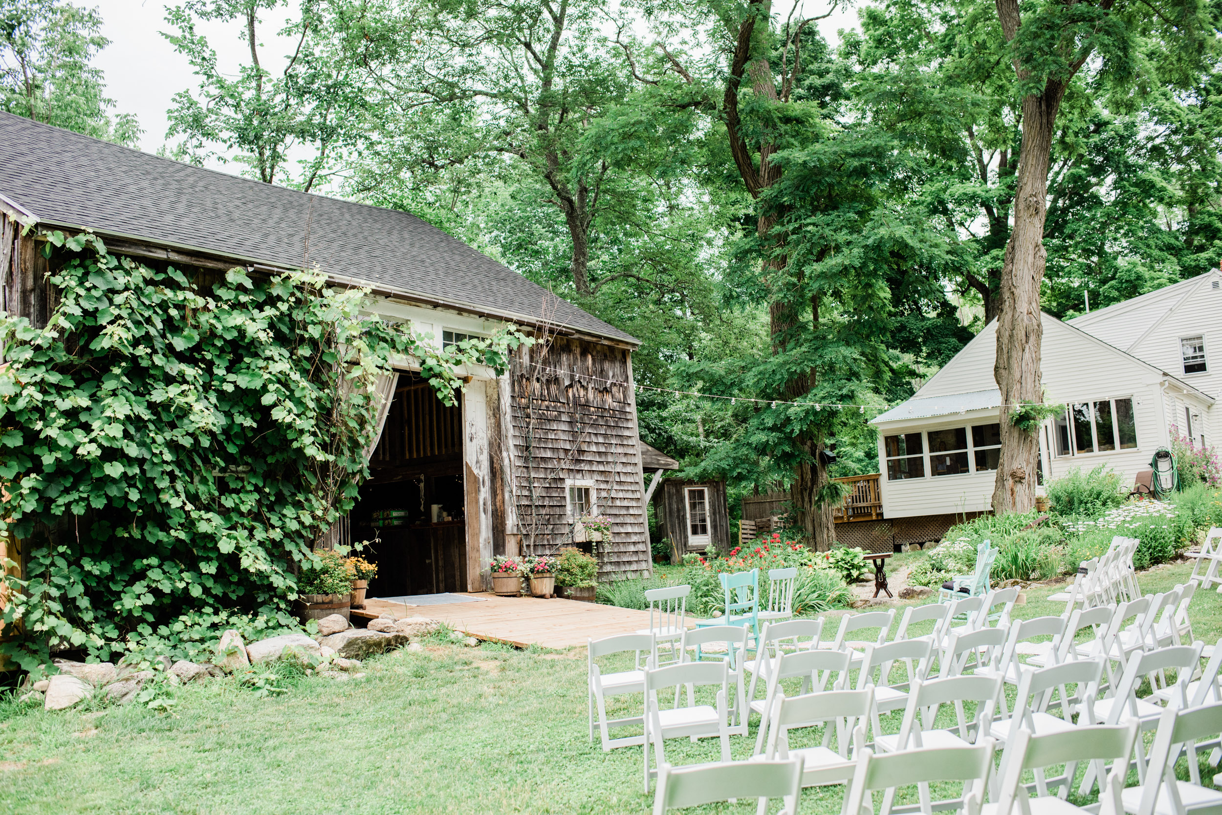 Rustic Barn Venues in Maine